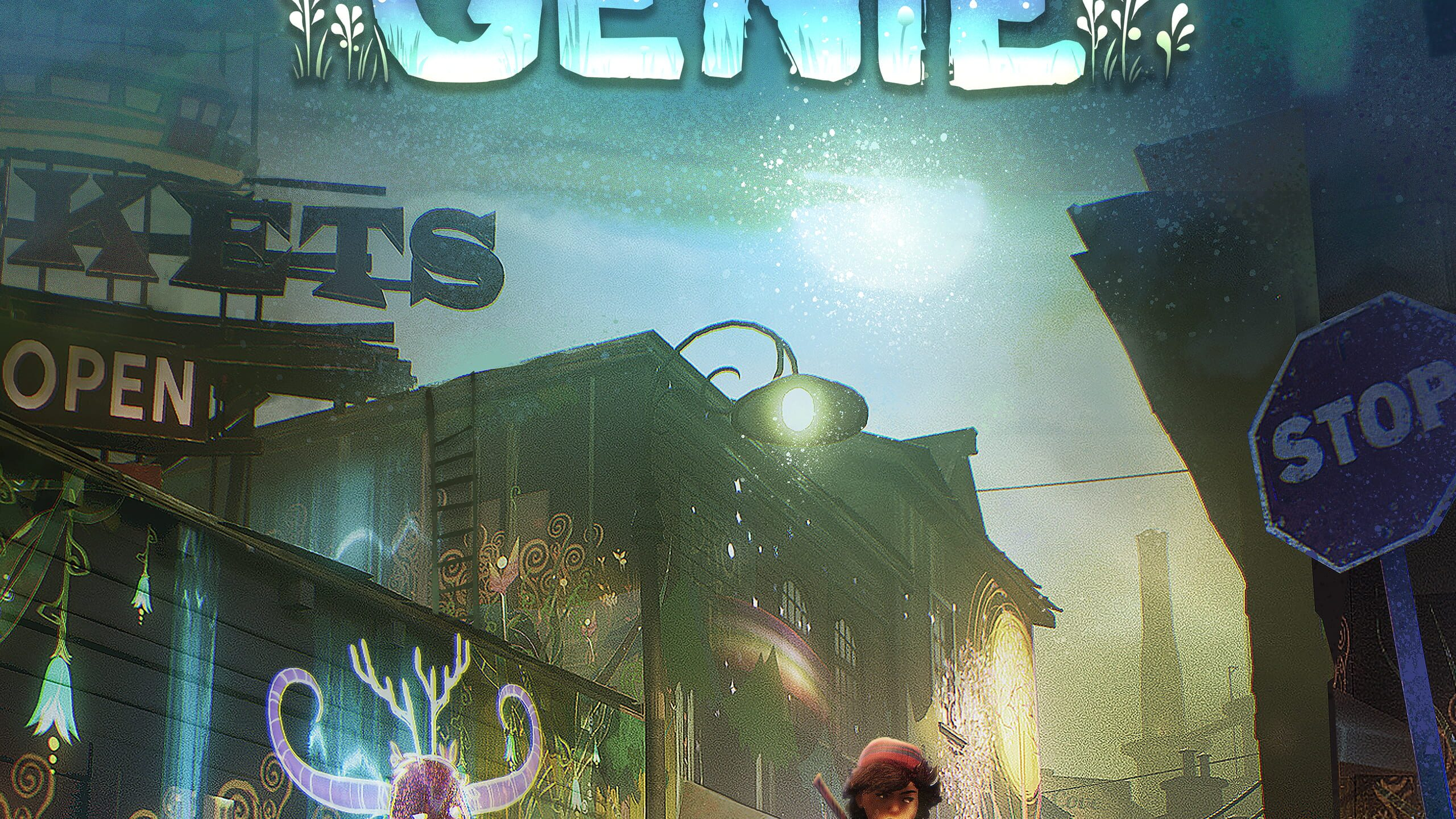 game cover art for Concrete Genie