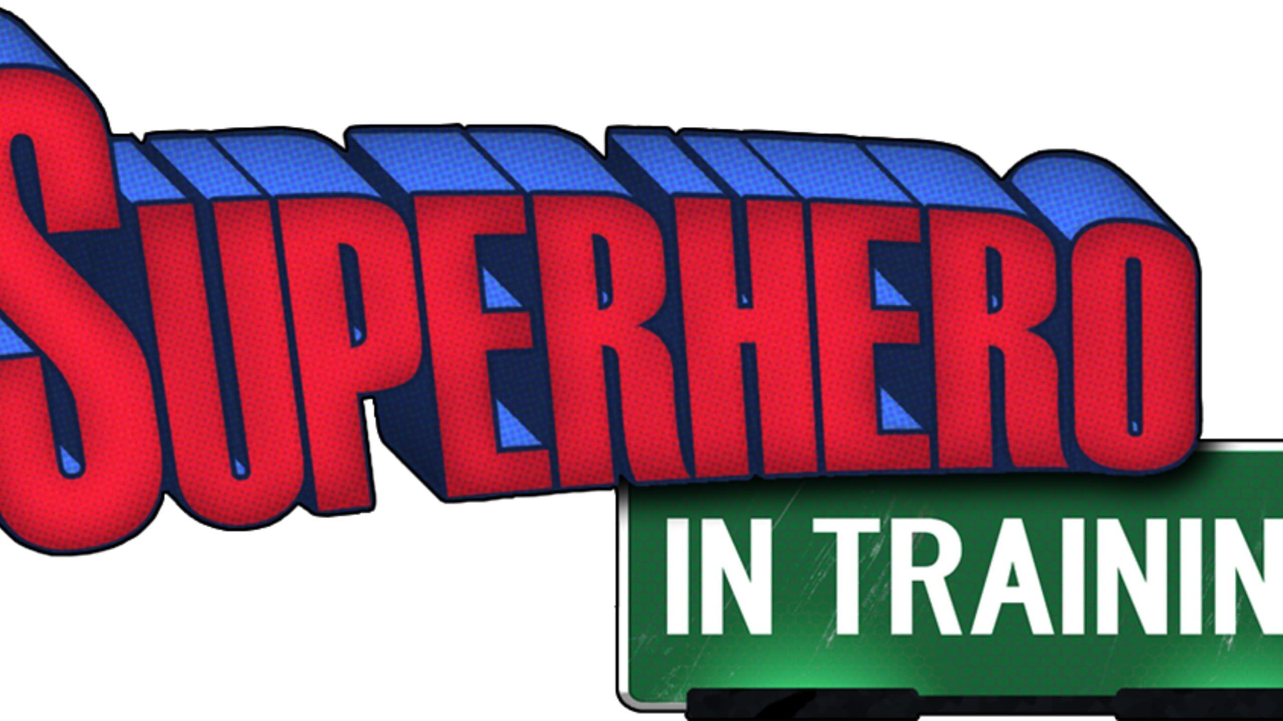 game cover art for SuperHero in Training