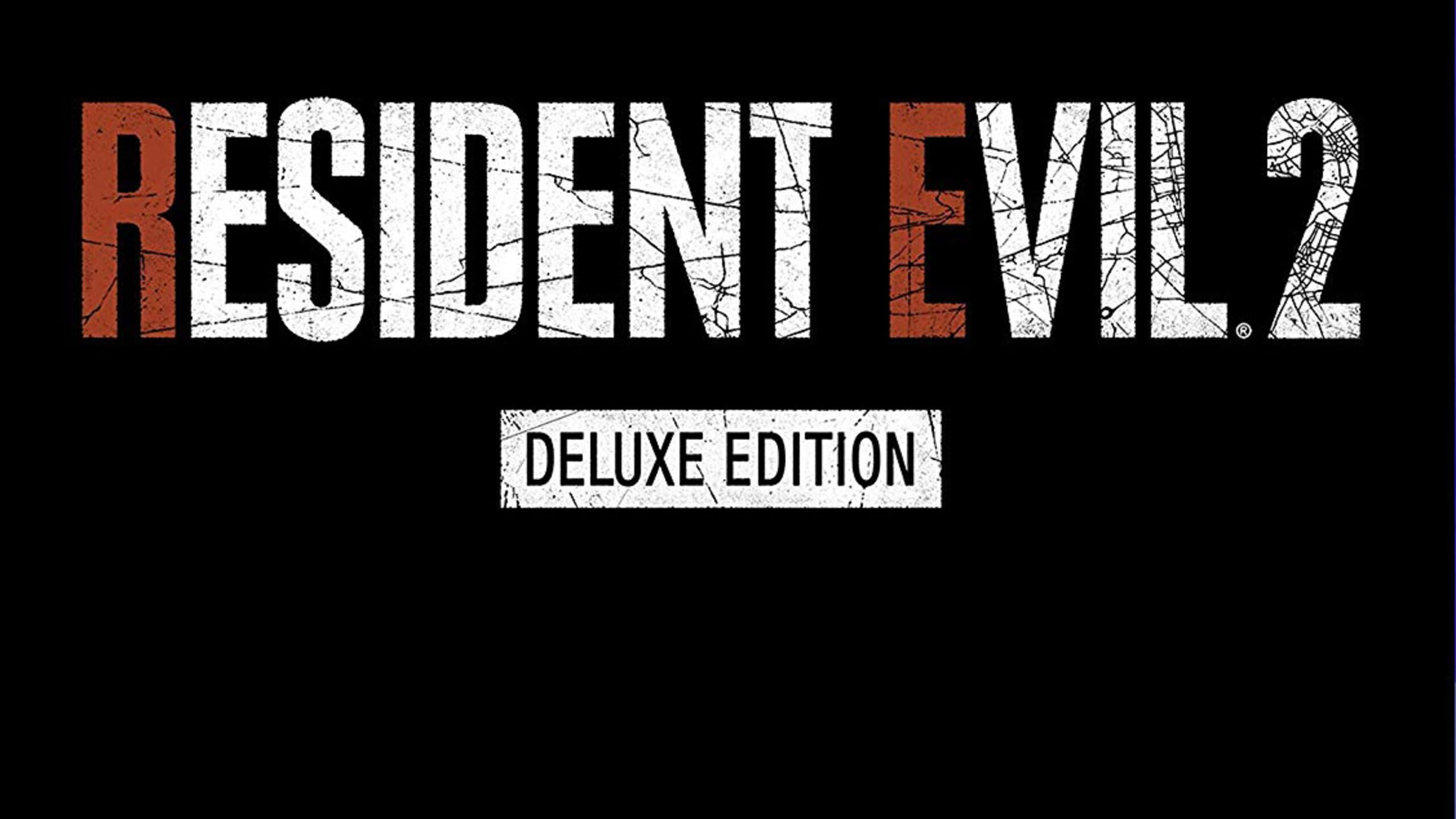 game cover art for Resident Evil 2: Deluxe Edition
