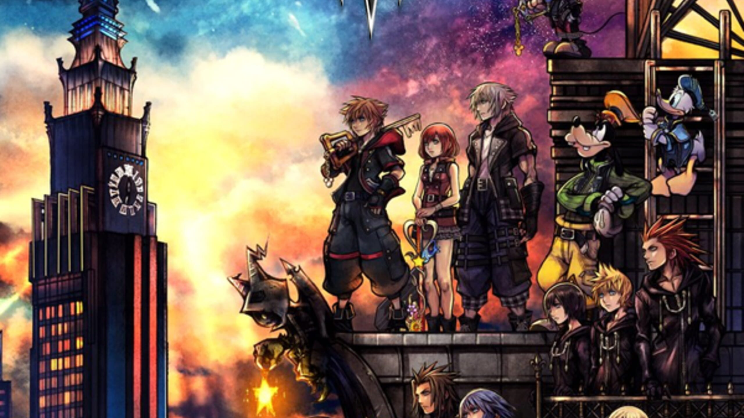 game cover art for Kingdom Hearts III