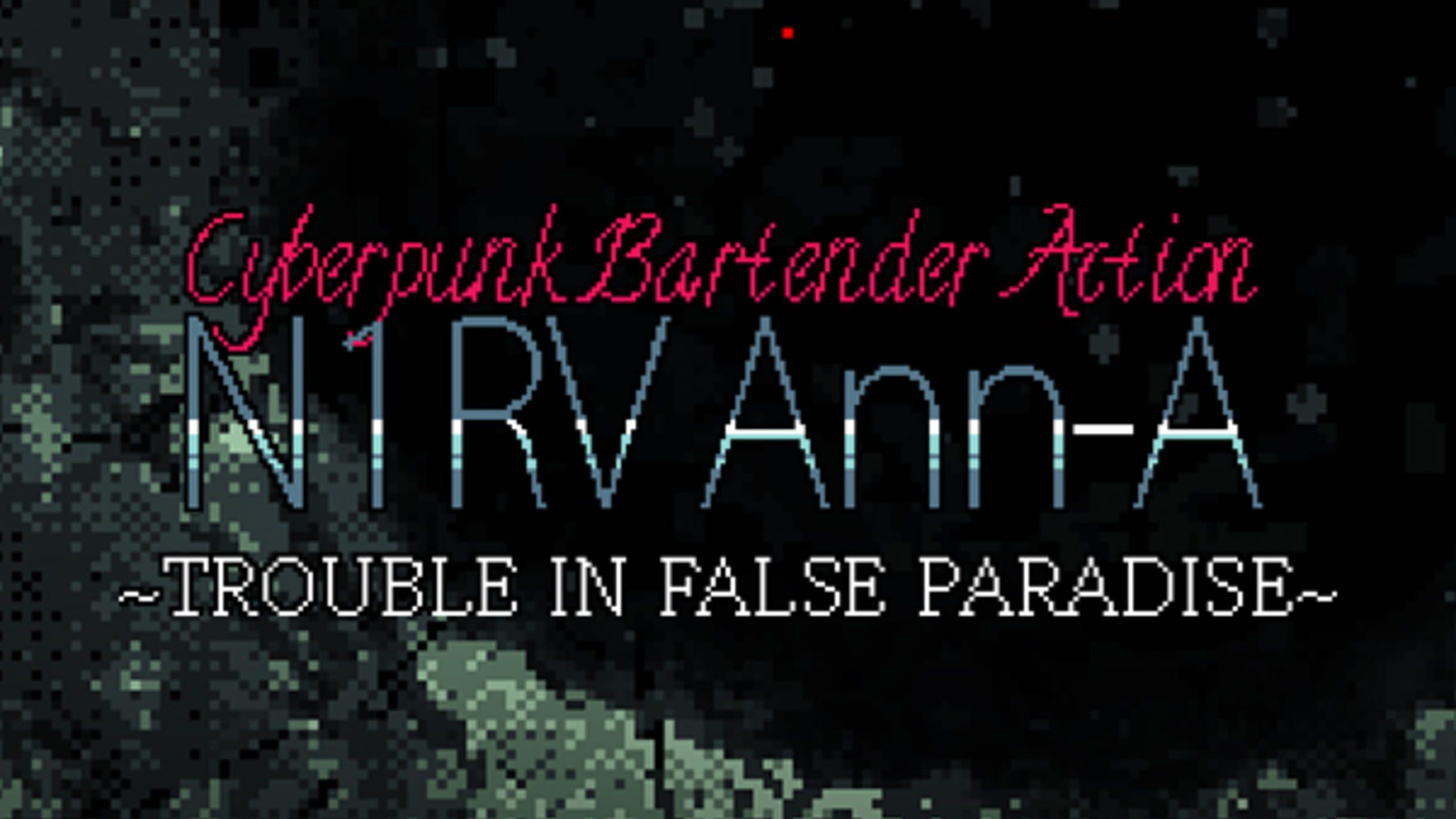 game cover art for N1RV Ann-A: Cyberpunk Bartender Action