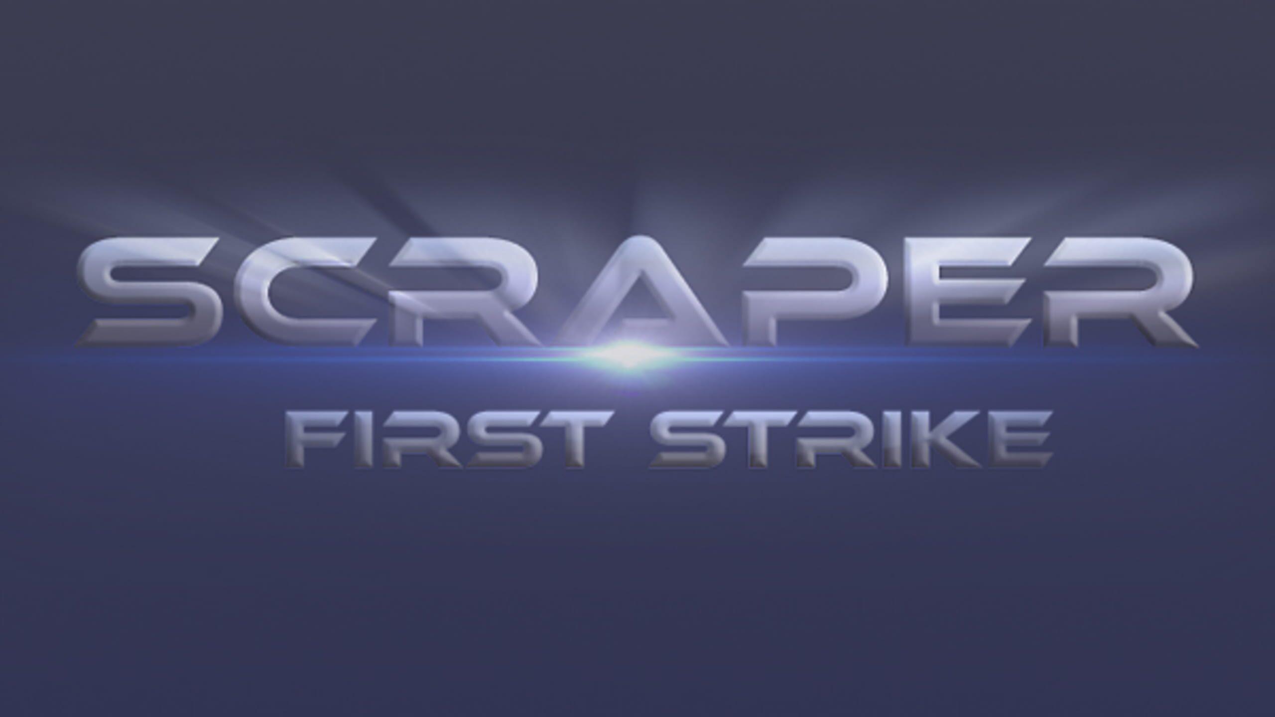 game cover art for Scraper: First Strike