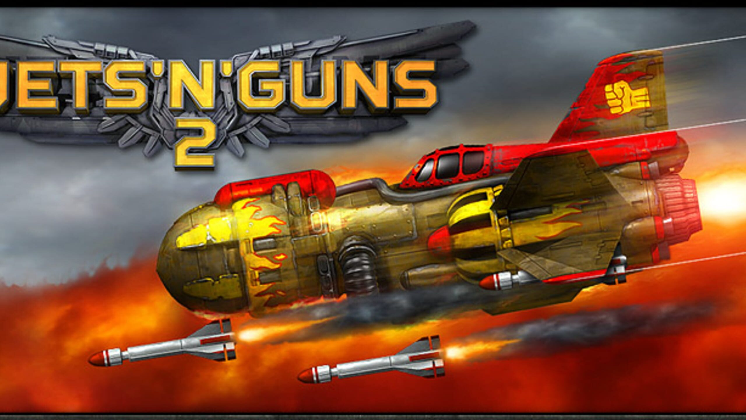 game cover art for Jets'n'Guns 2