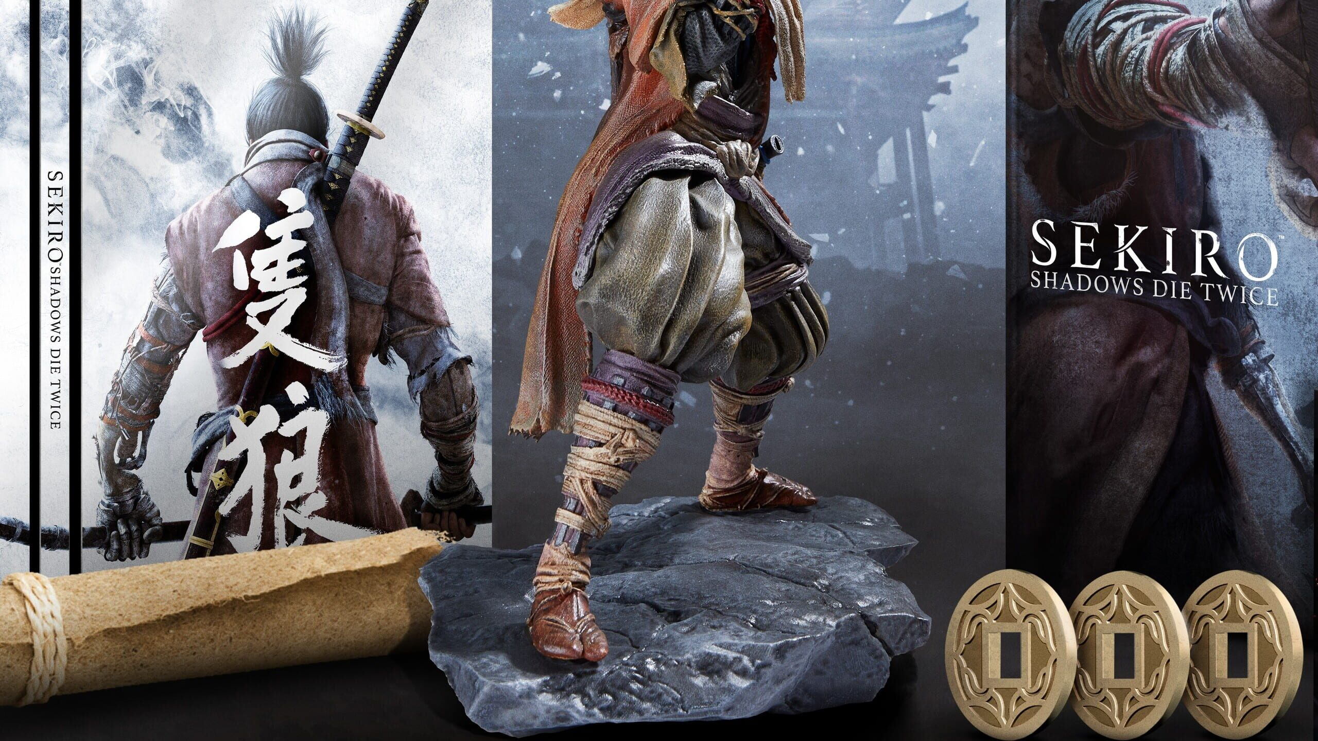 game cover art for Sekiro: Shadows Die Twice - Collector's Edition