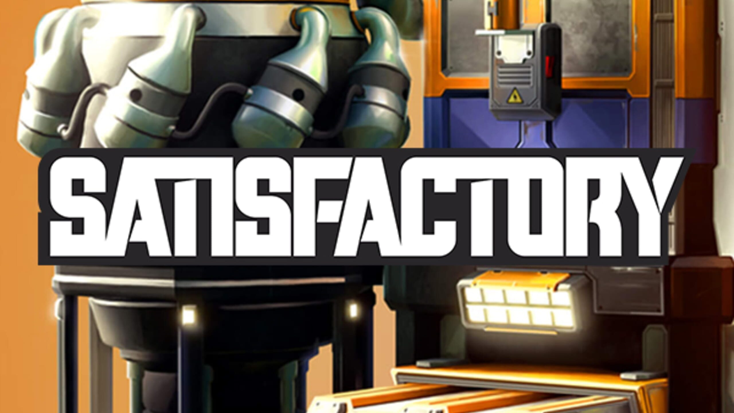 game cover art for Satisfactory