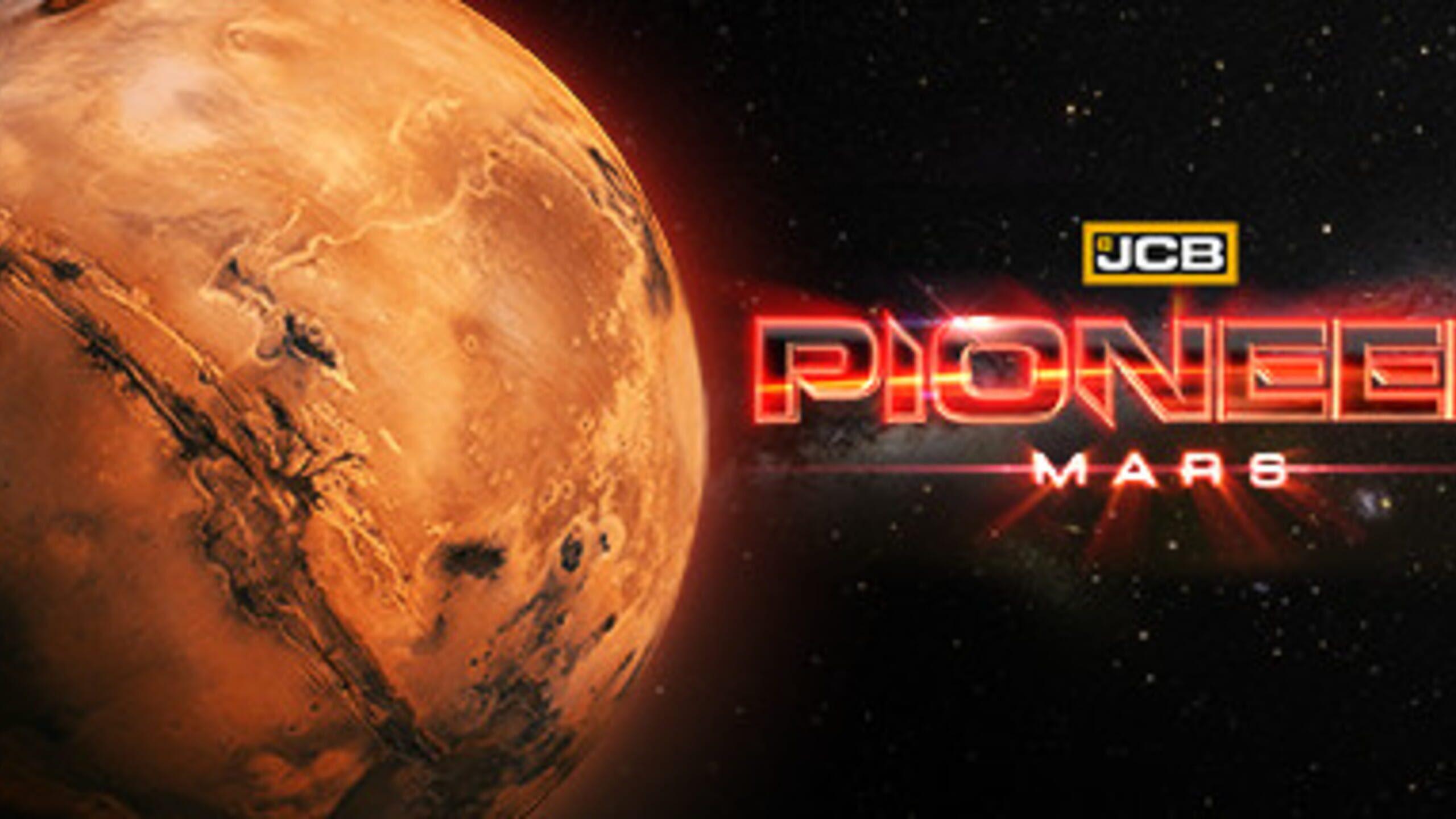game cover art for JCB Pioneer: Mars