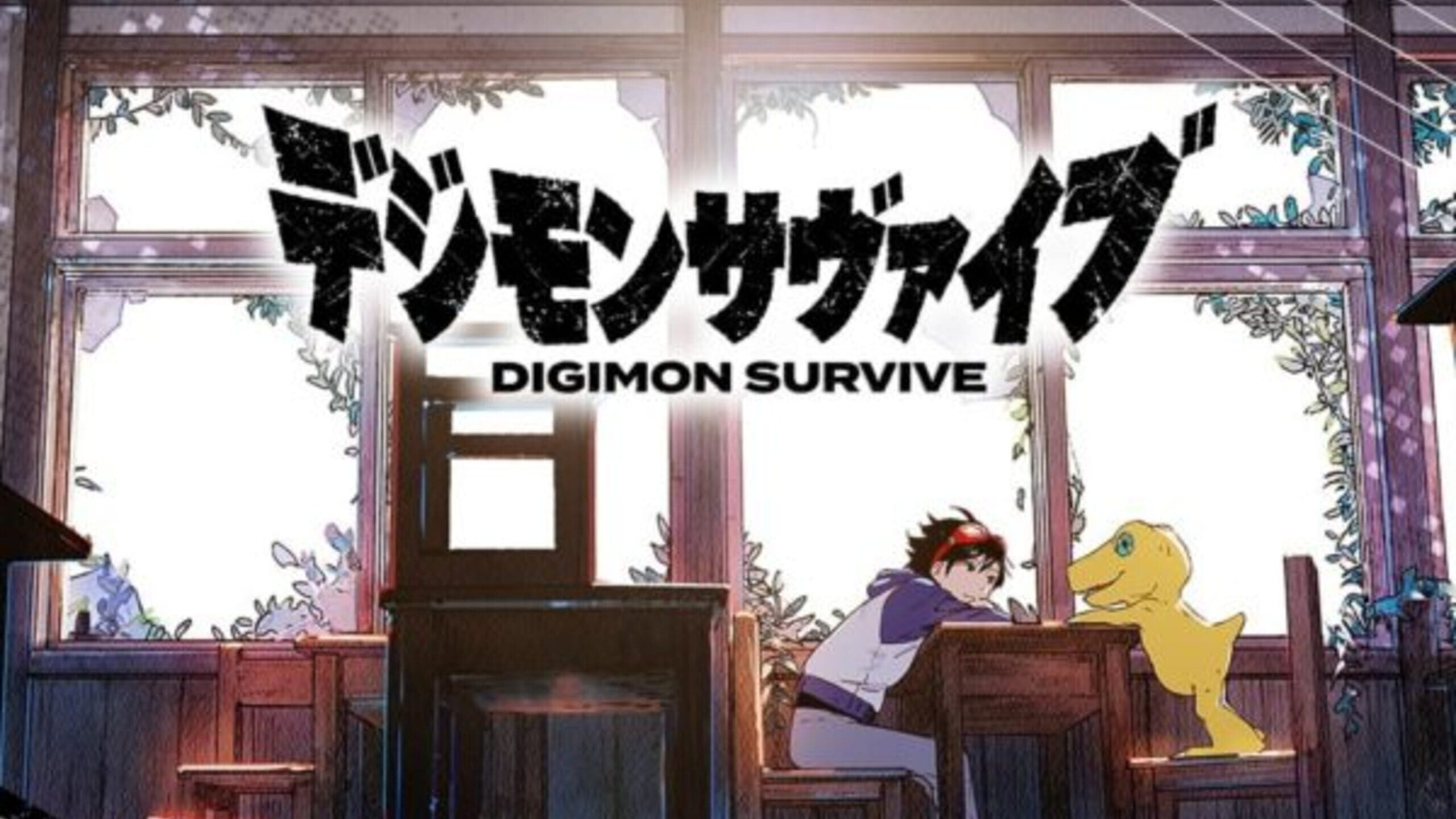 game cover art for Digimon Survive