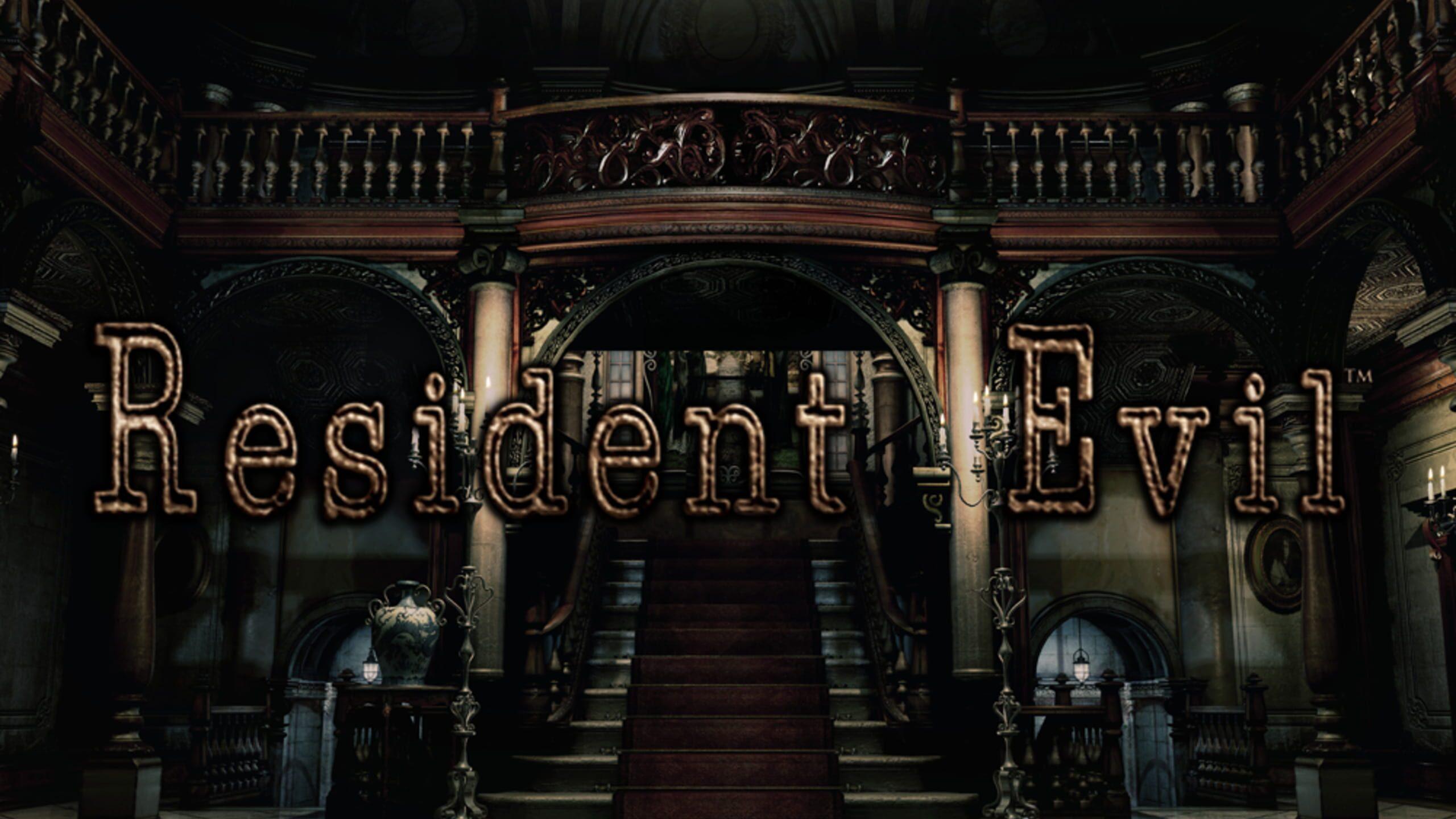 game cover art for Resident Evil: HD Remaster