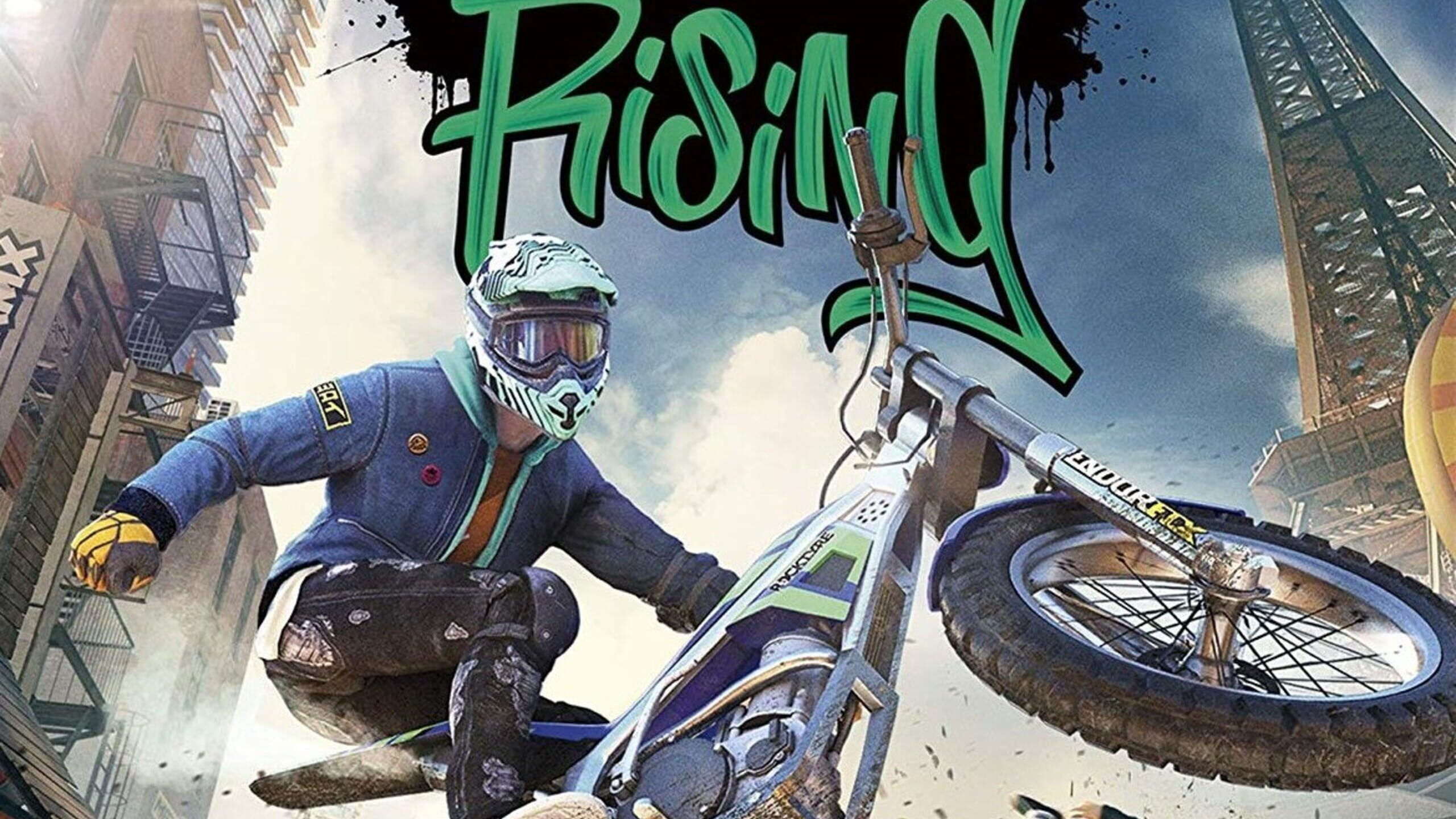 game cover art for Trials Rising: Gold Edition