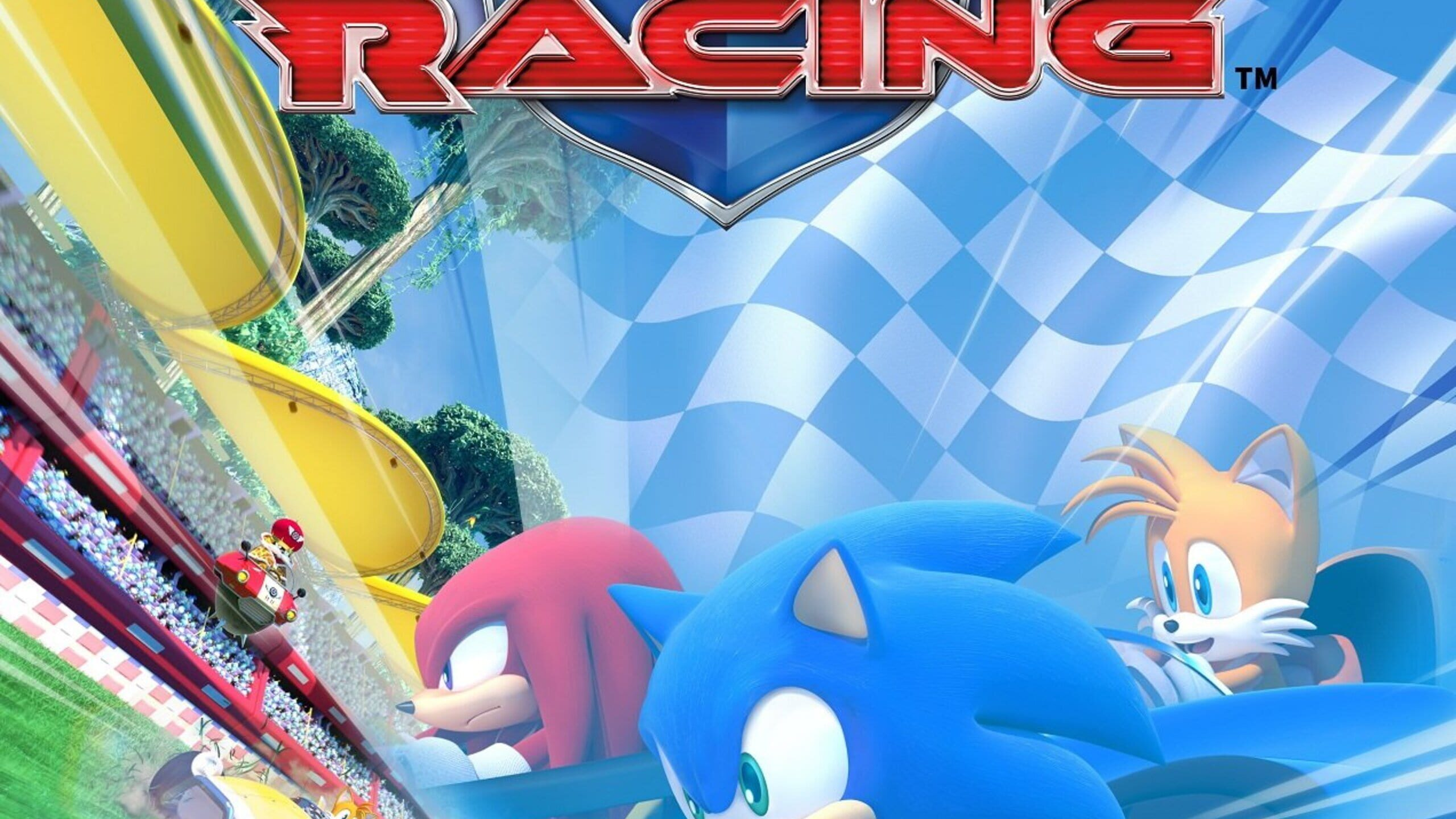 game cover art for Team Sonic Racing