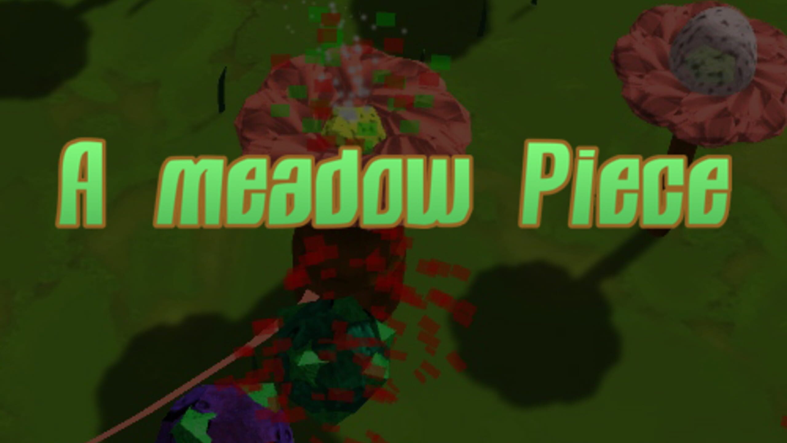 game cover art for A meadow Piece