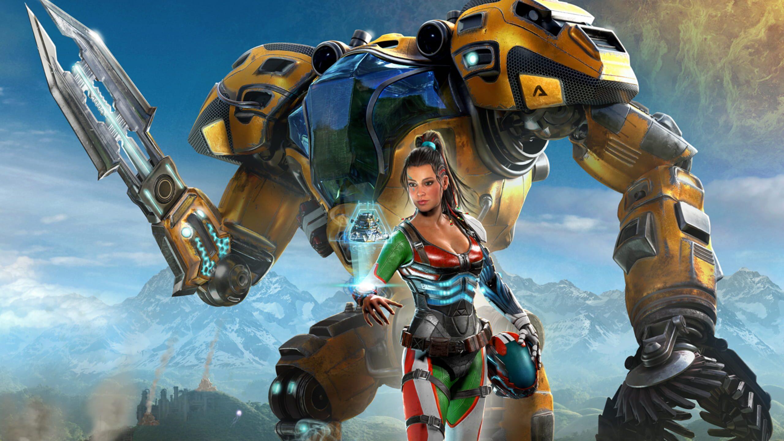 game cover art for The Riftbreaker