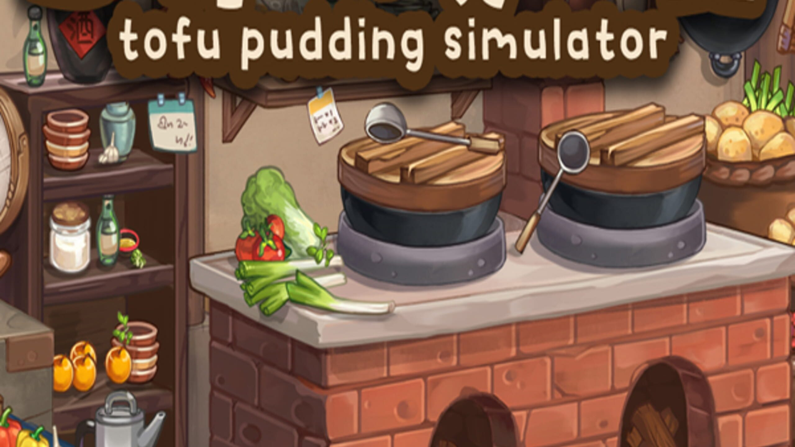 game cover art for Tofu Pudding Simulator