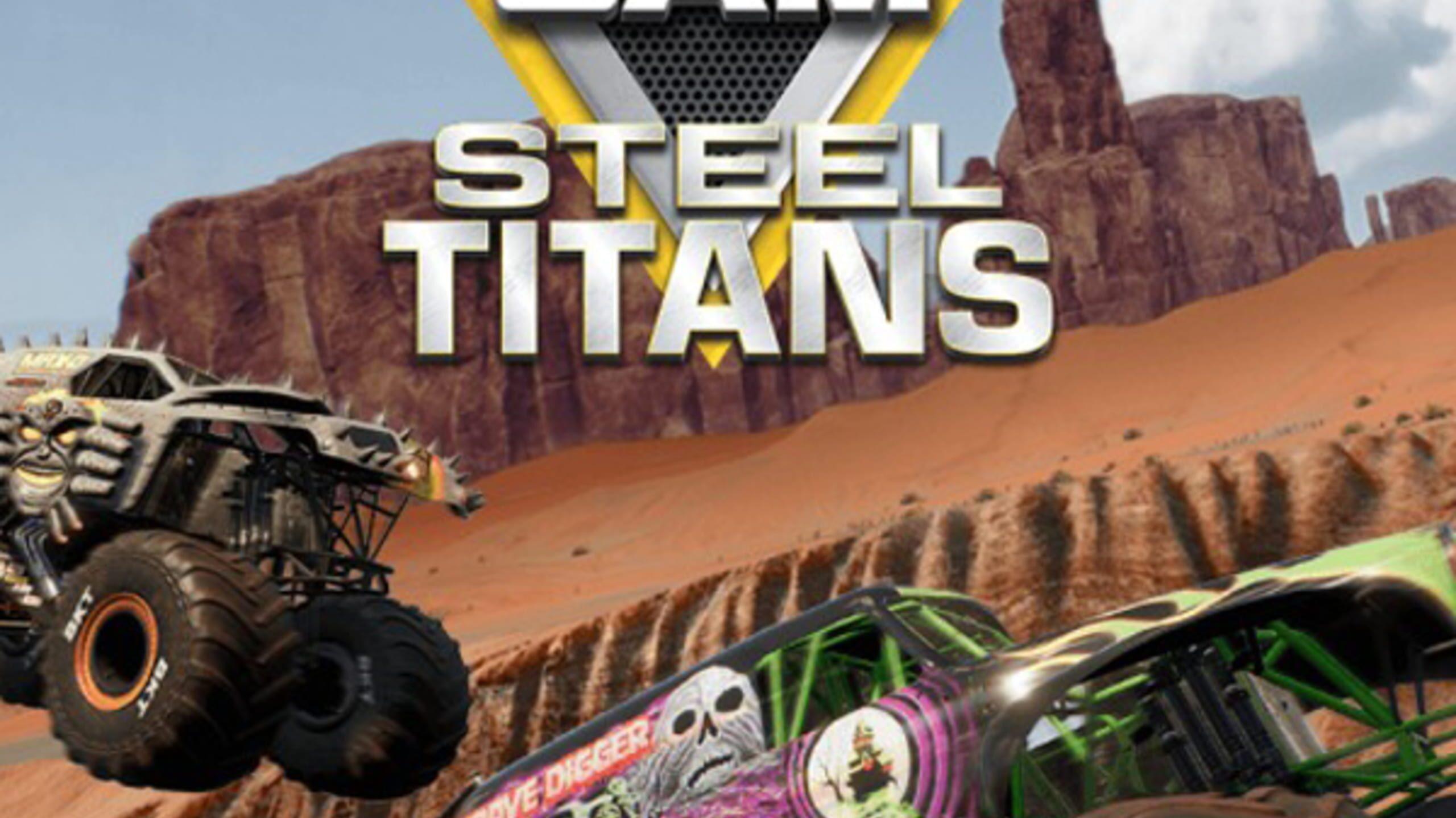 game cover art for Monster Jam Steel Titans