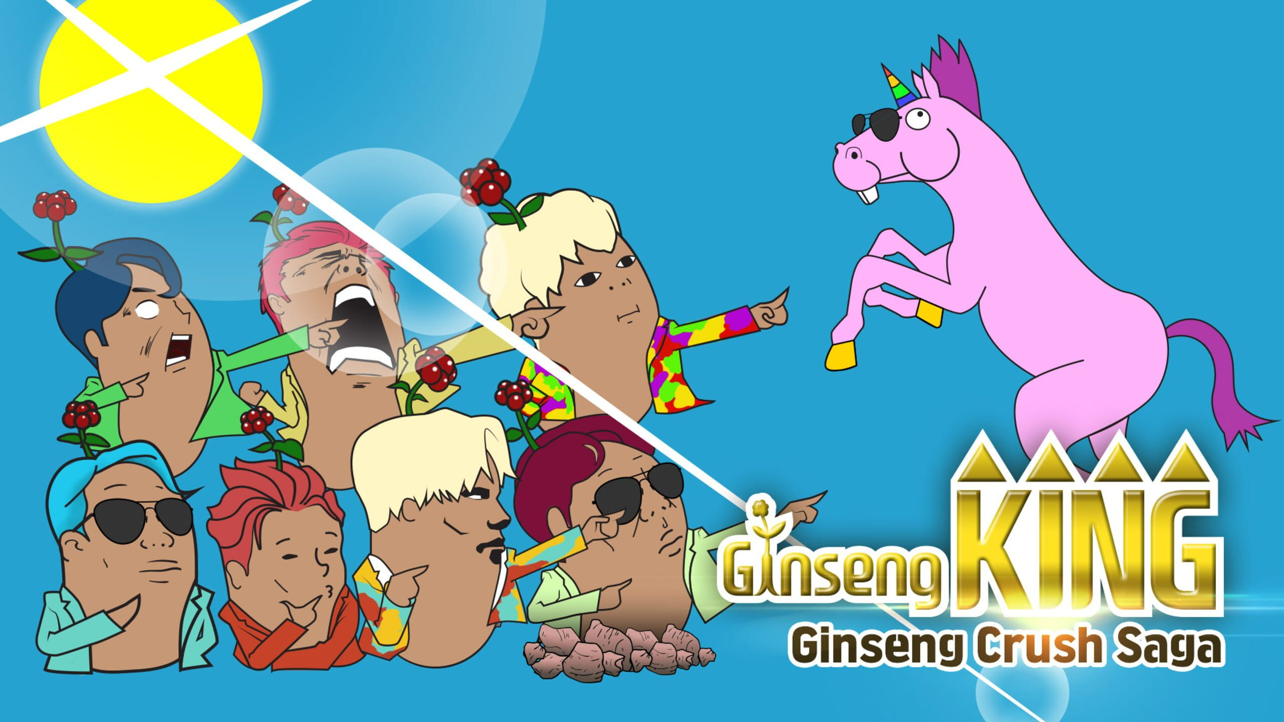 game cover art for Ginseng King