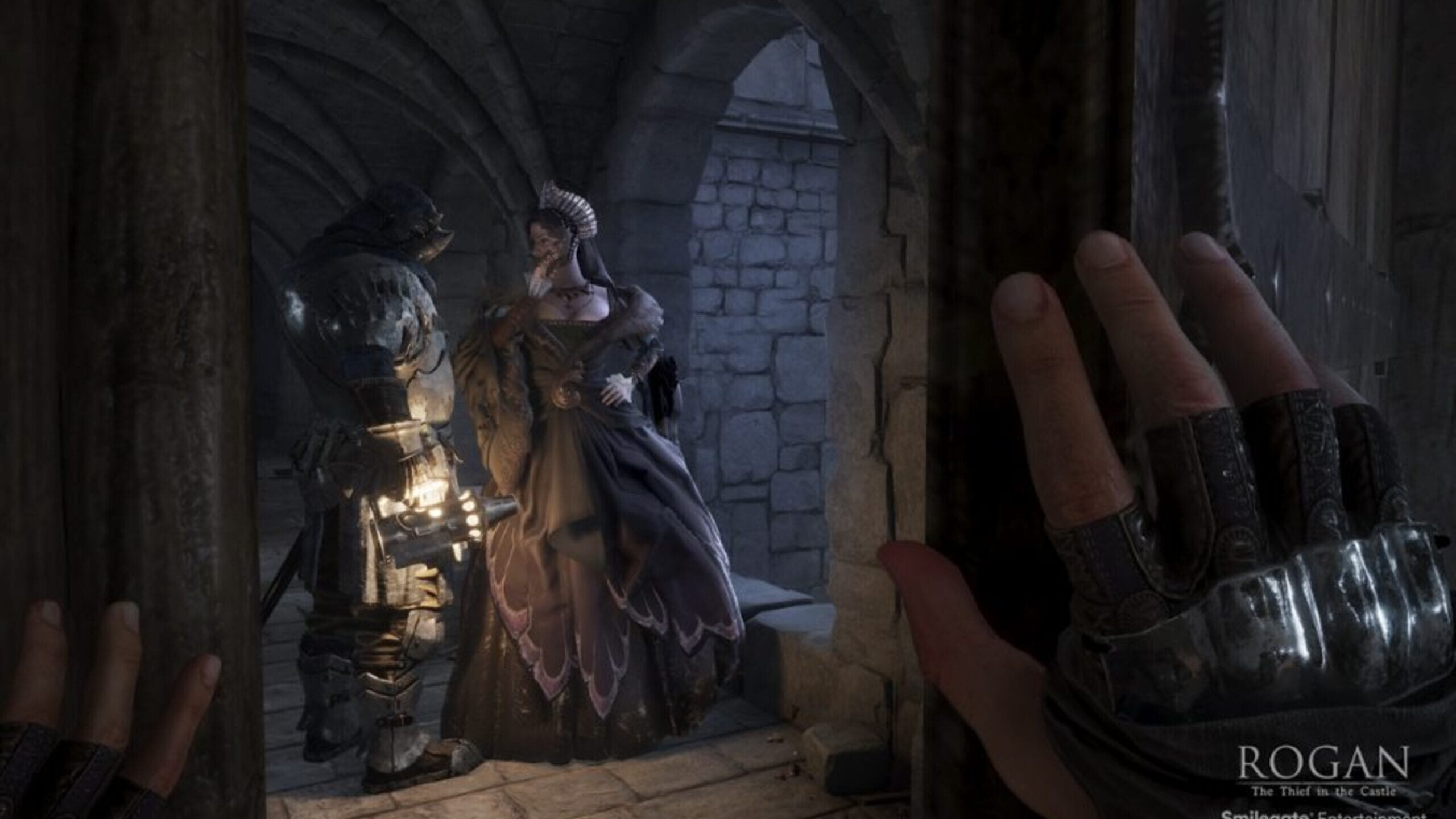 game cover art for Rogan: The Thief in the Castle