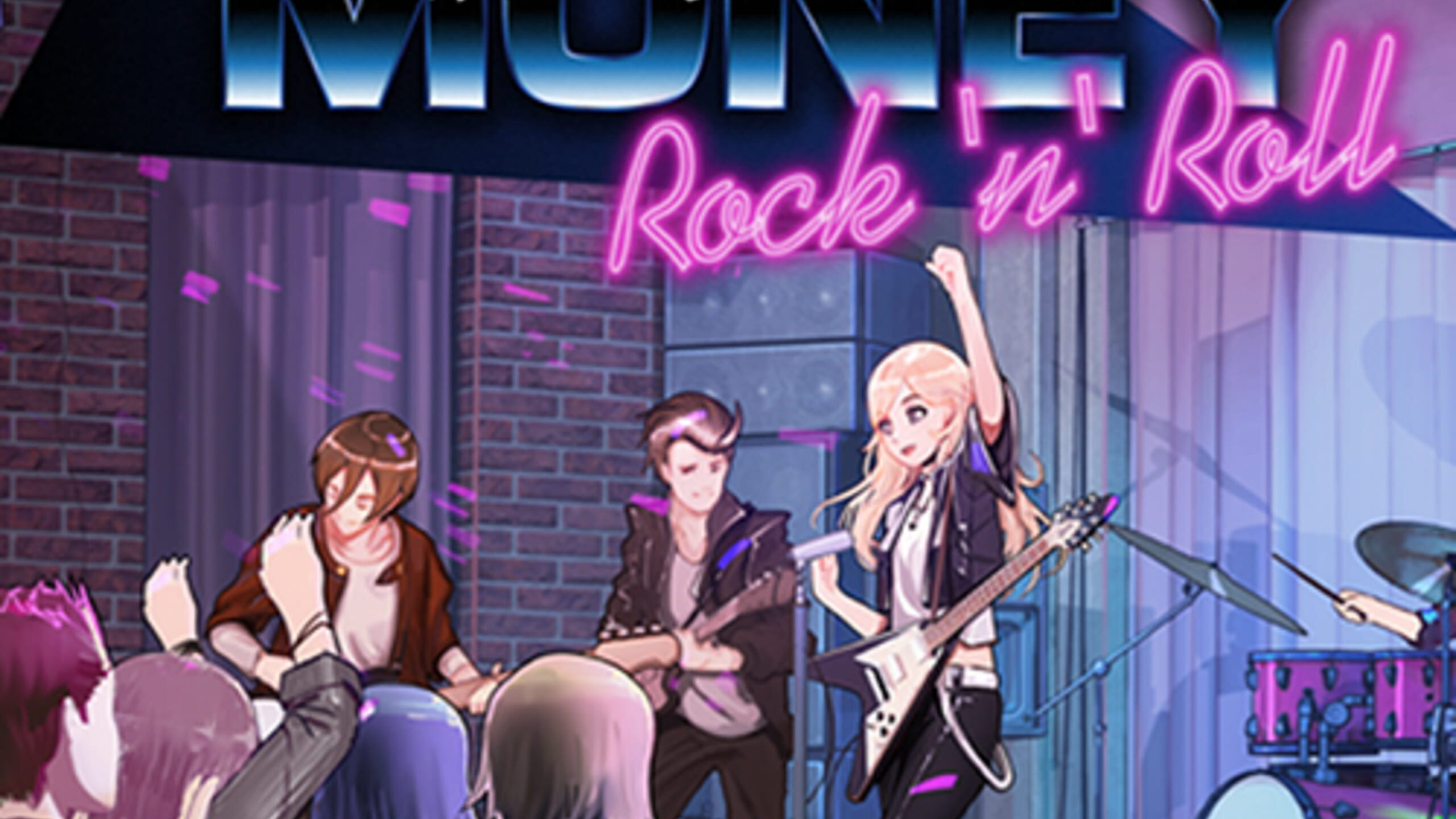 game cover art for Love, Money, Rock'n'Roll