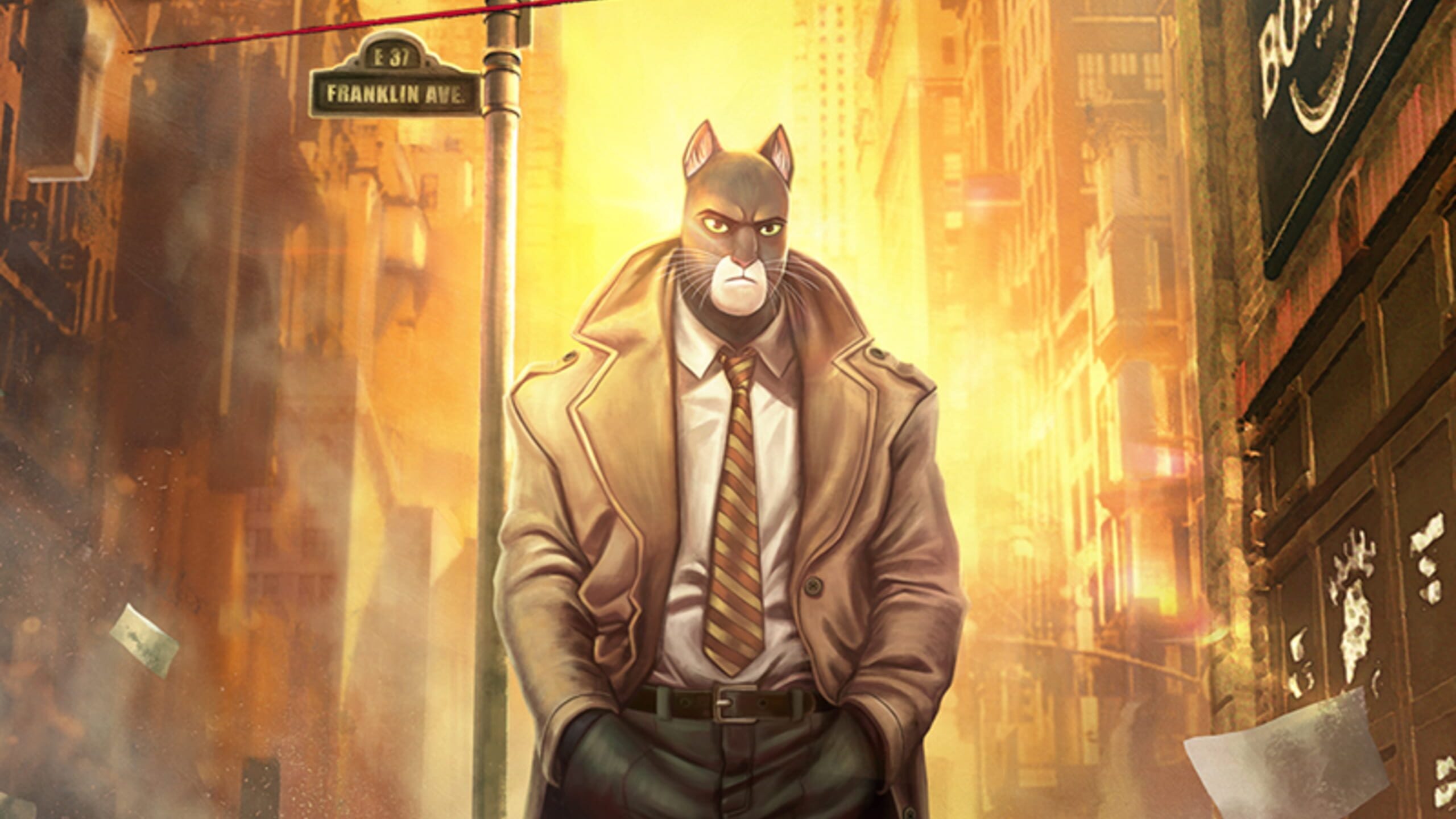 game cover art for Blacksad: Under the Skin