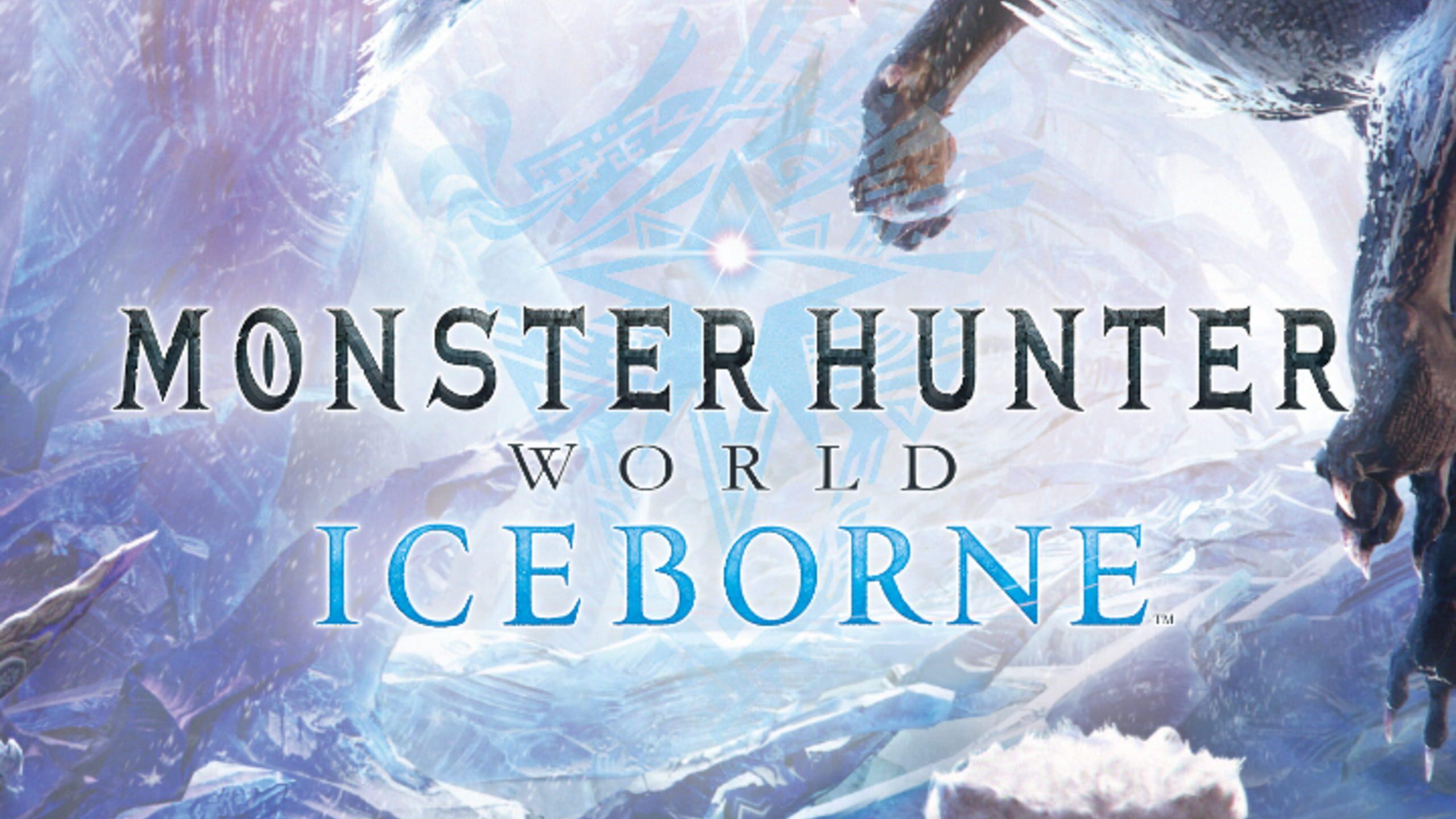 game cover art for Monster Hunter: World - Iceborne