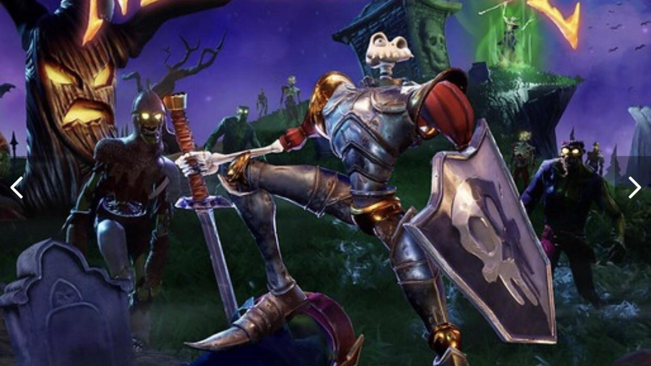 game cover art for MediEvil