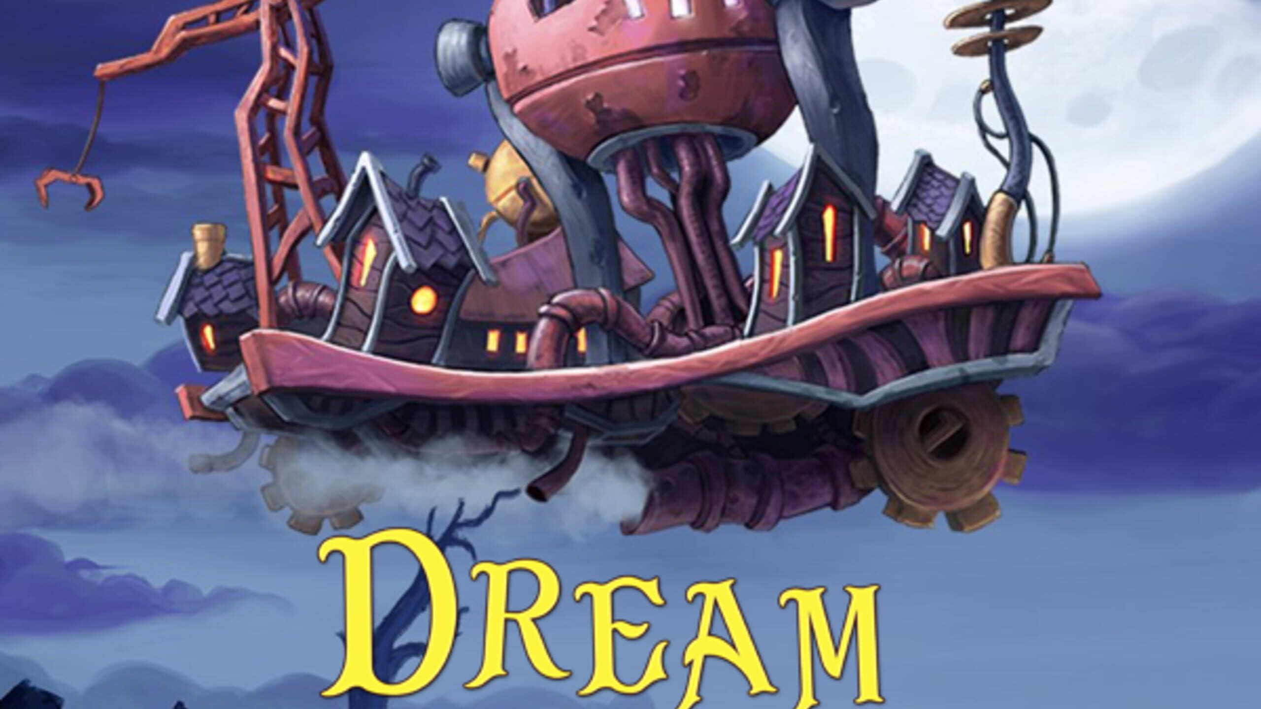 game cover art for Dream Engines: Nomad Cities