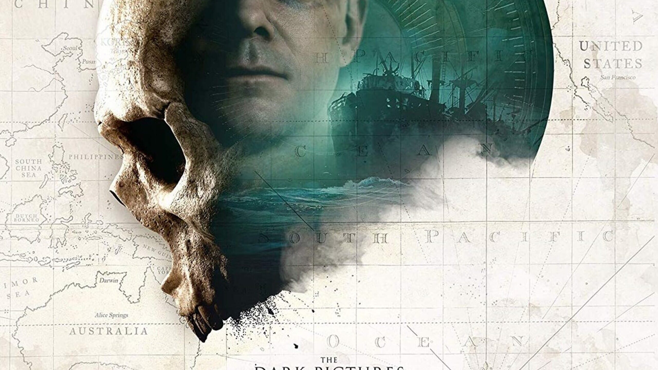 game cover art for The Dark Pictures: Man of Medan