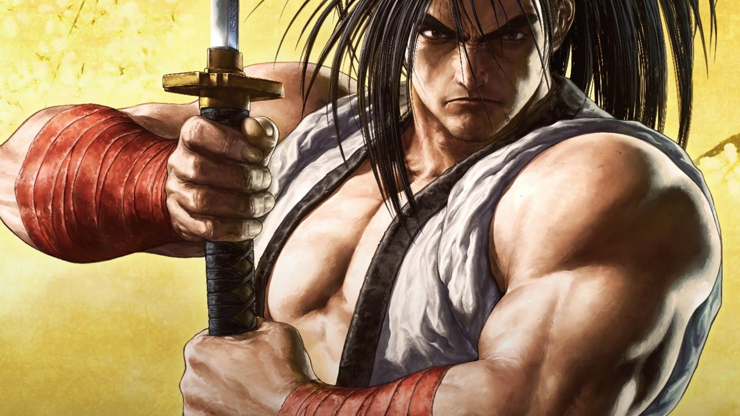 game cover art for SAMURAI SHODOWN