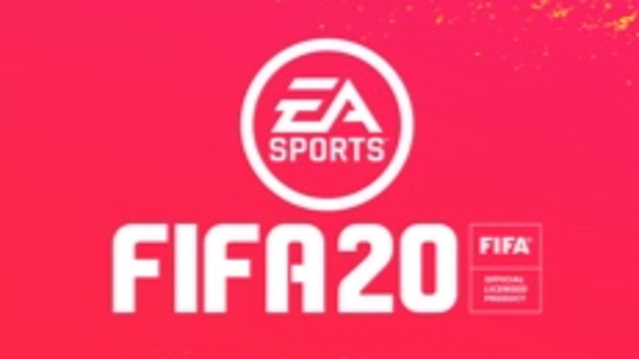 game cover art for FIFA 20
