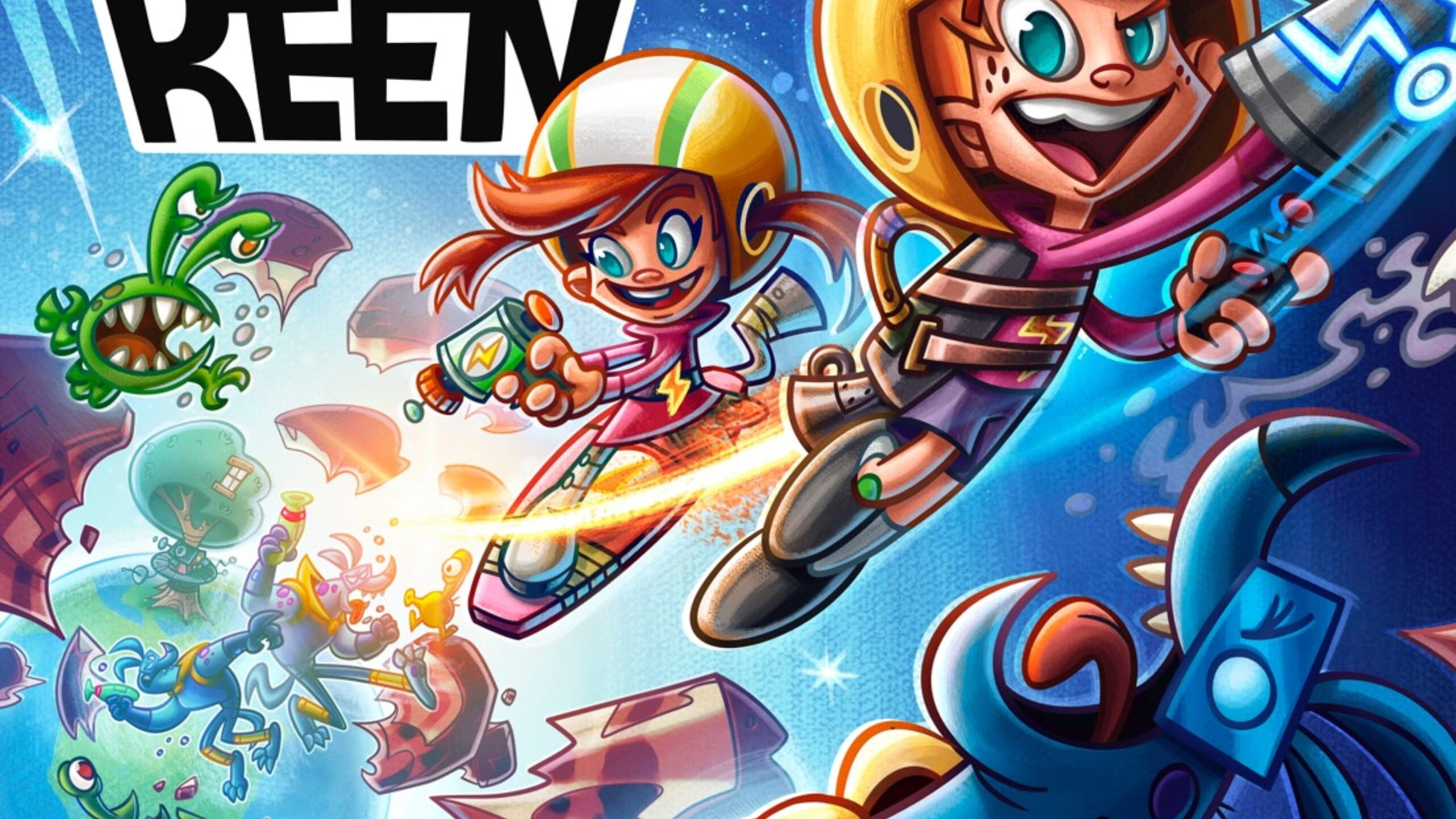 game cover art for Commander Keen