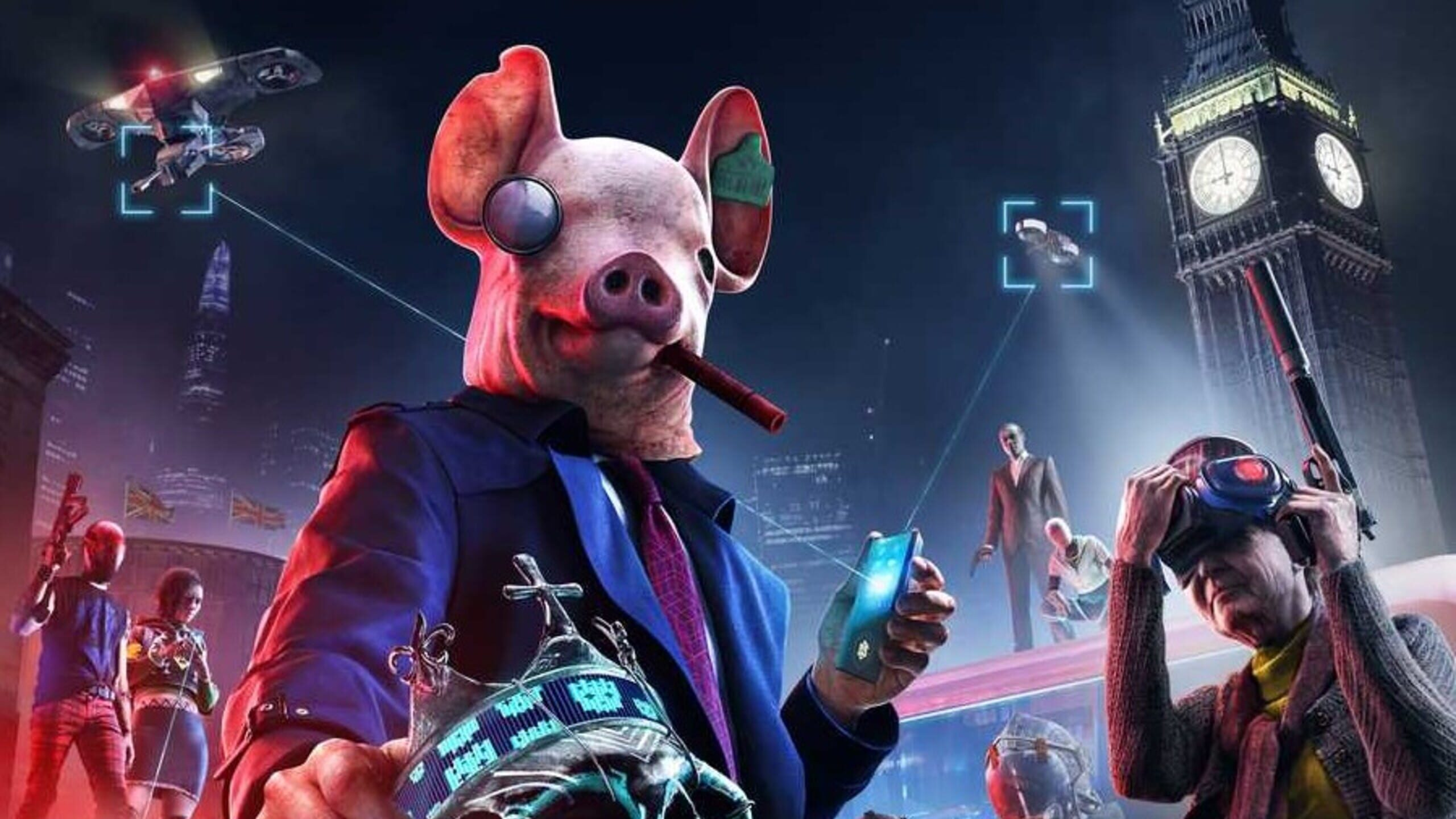 game cover art for Watch Dogs Legion