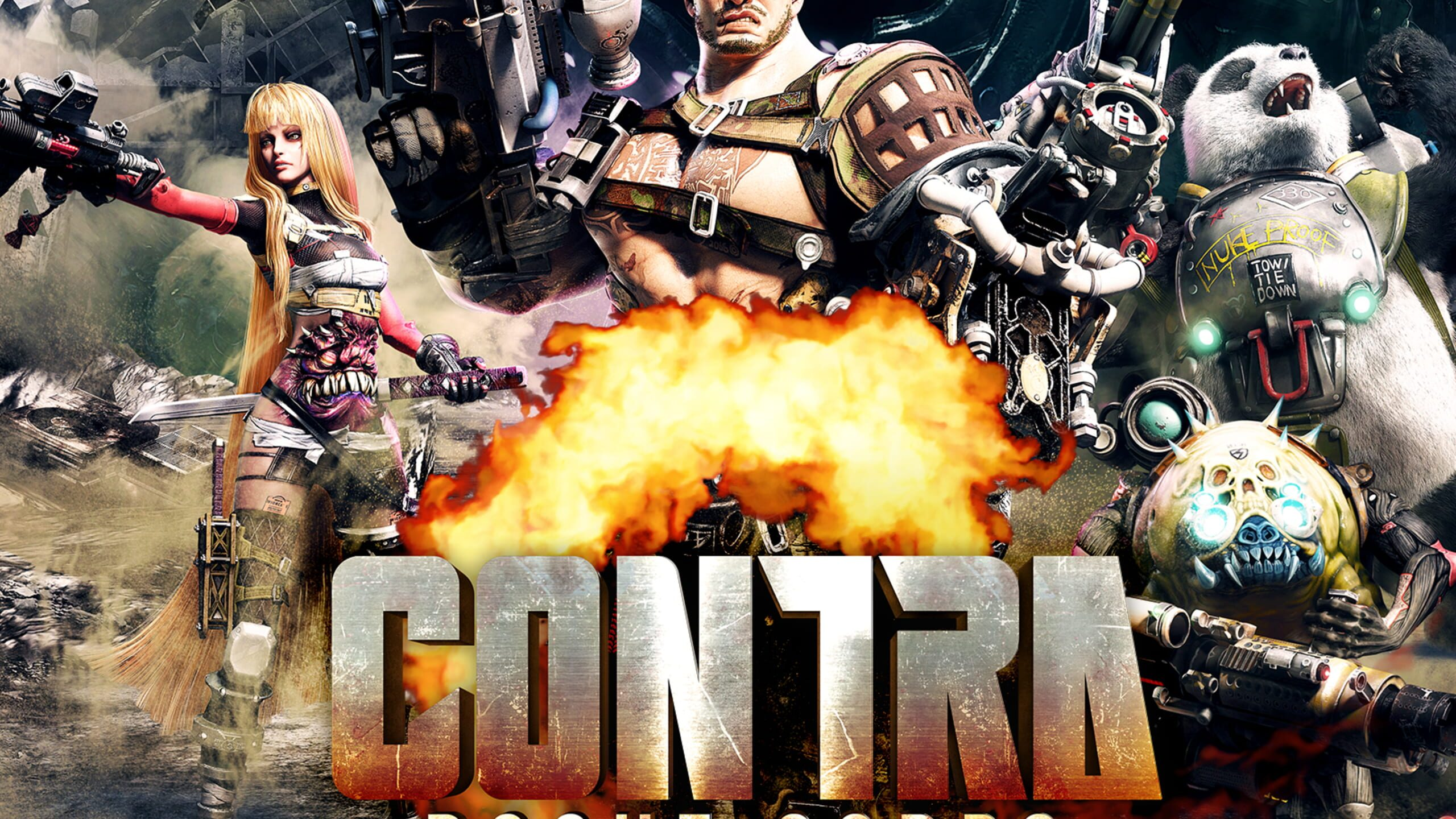 game cover art for Contra: Rogue Corps