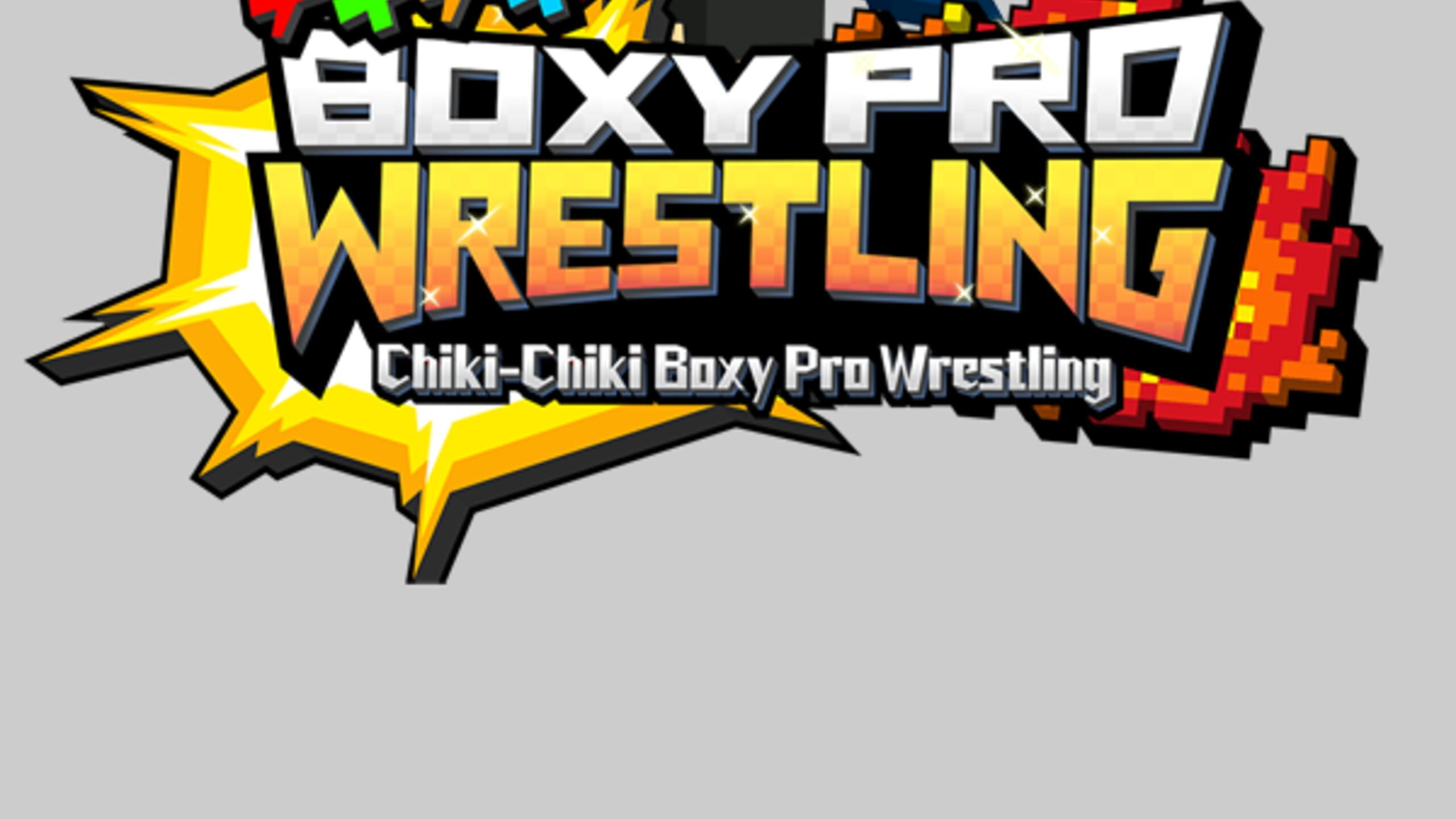 game cover art for Chiki-Chiki Boxy Pro Wrestling