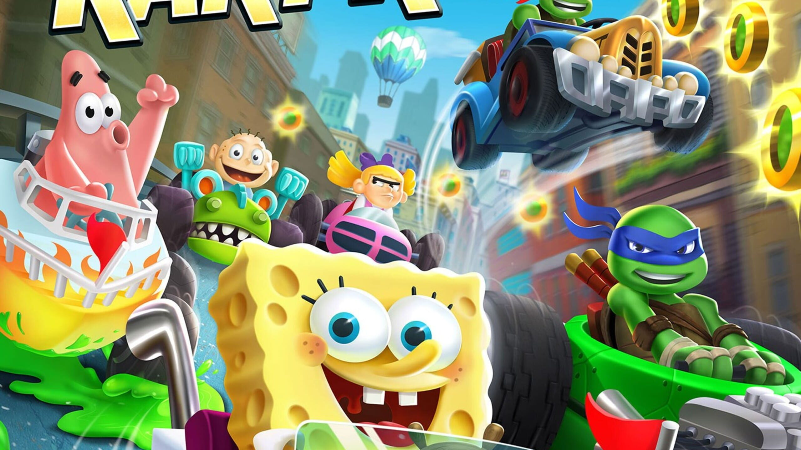 game cover art for Nickelodeon Kart Racers