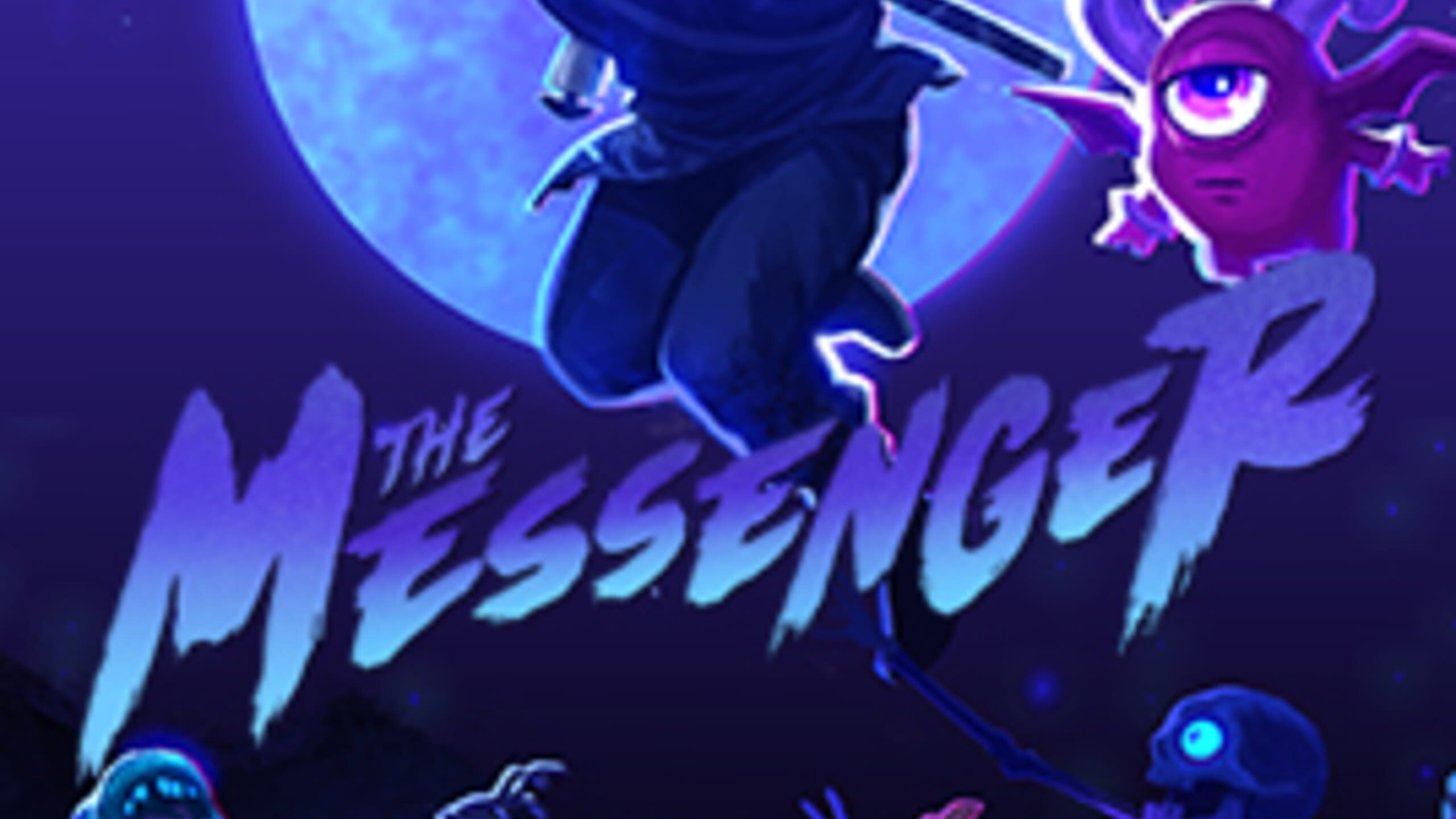 game cover art for The Messenger