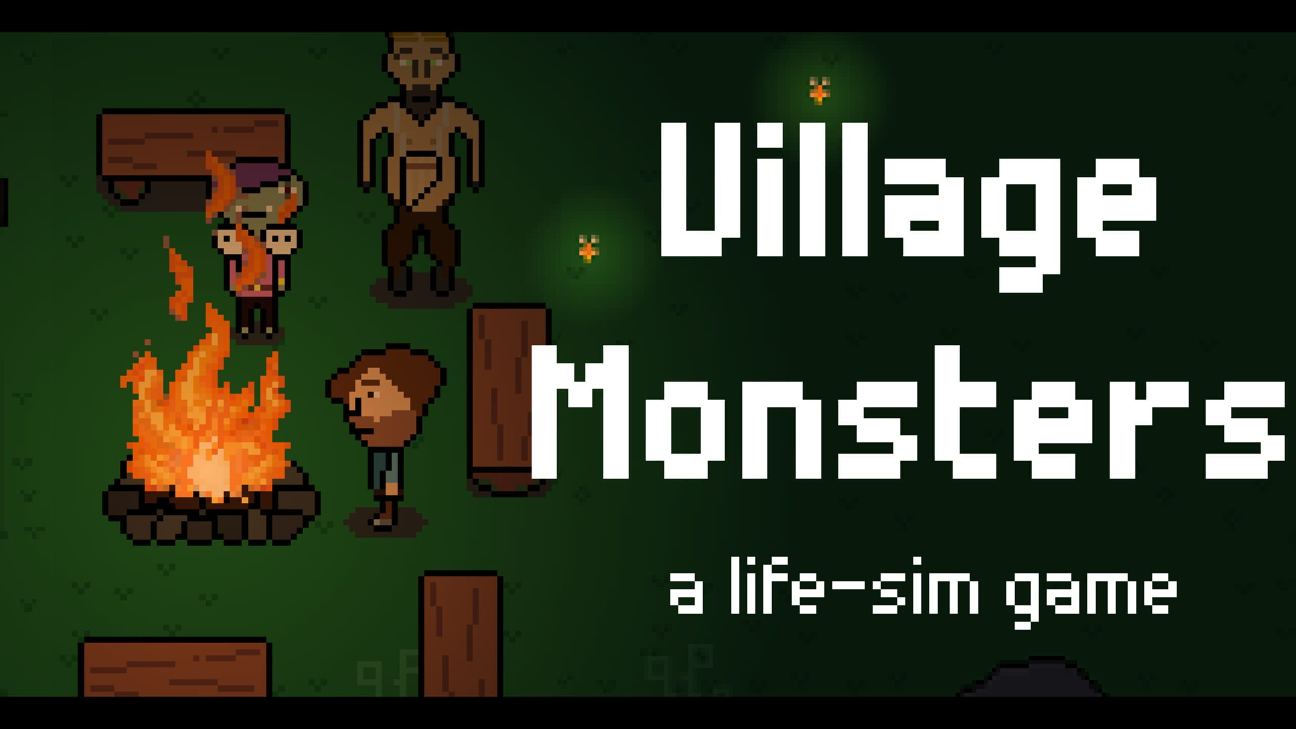game cover art for Village Monsters
