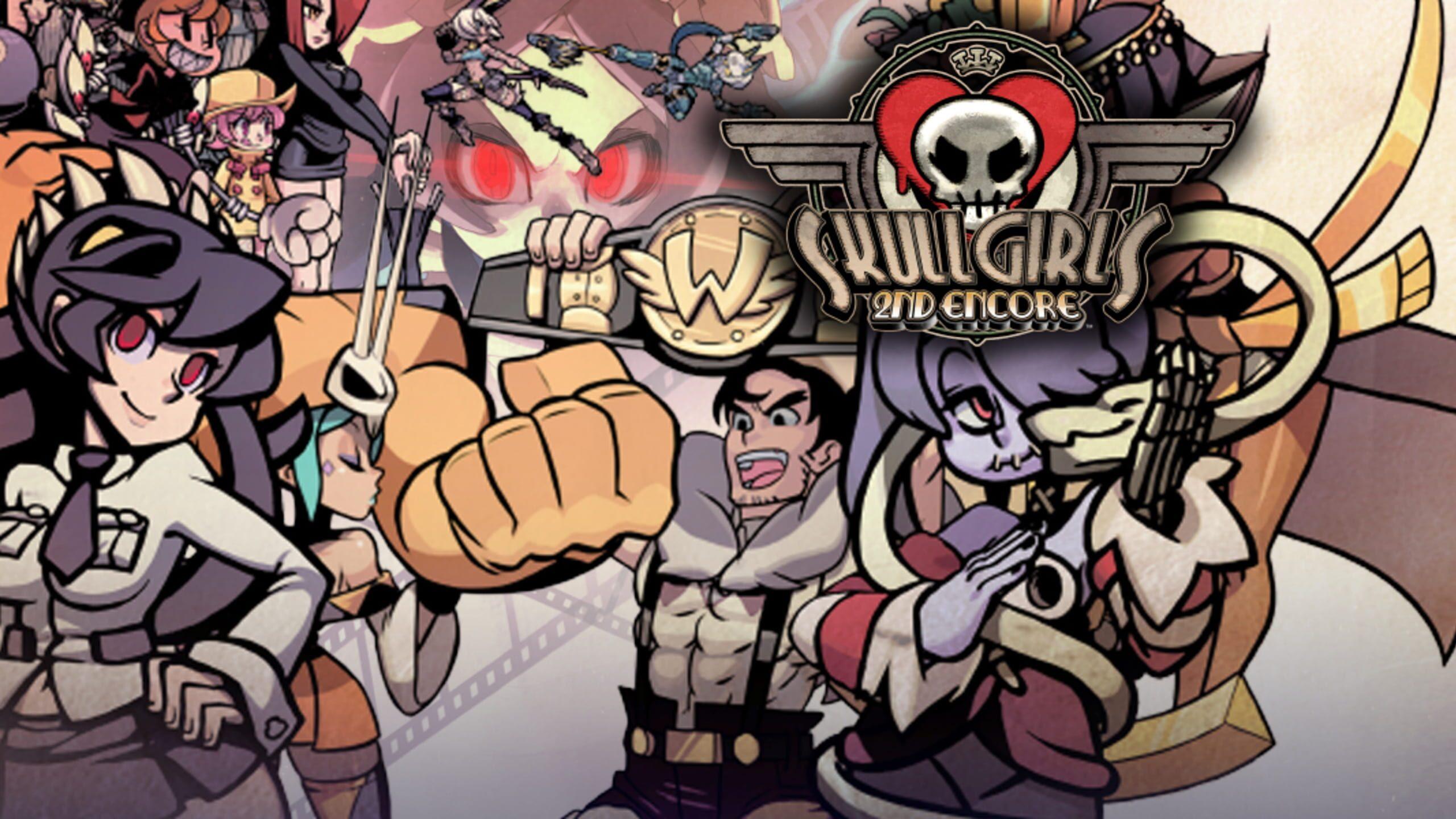 game cover art for Skullgirls: 2nd Encore
