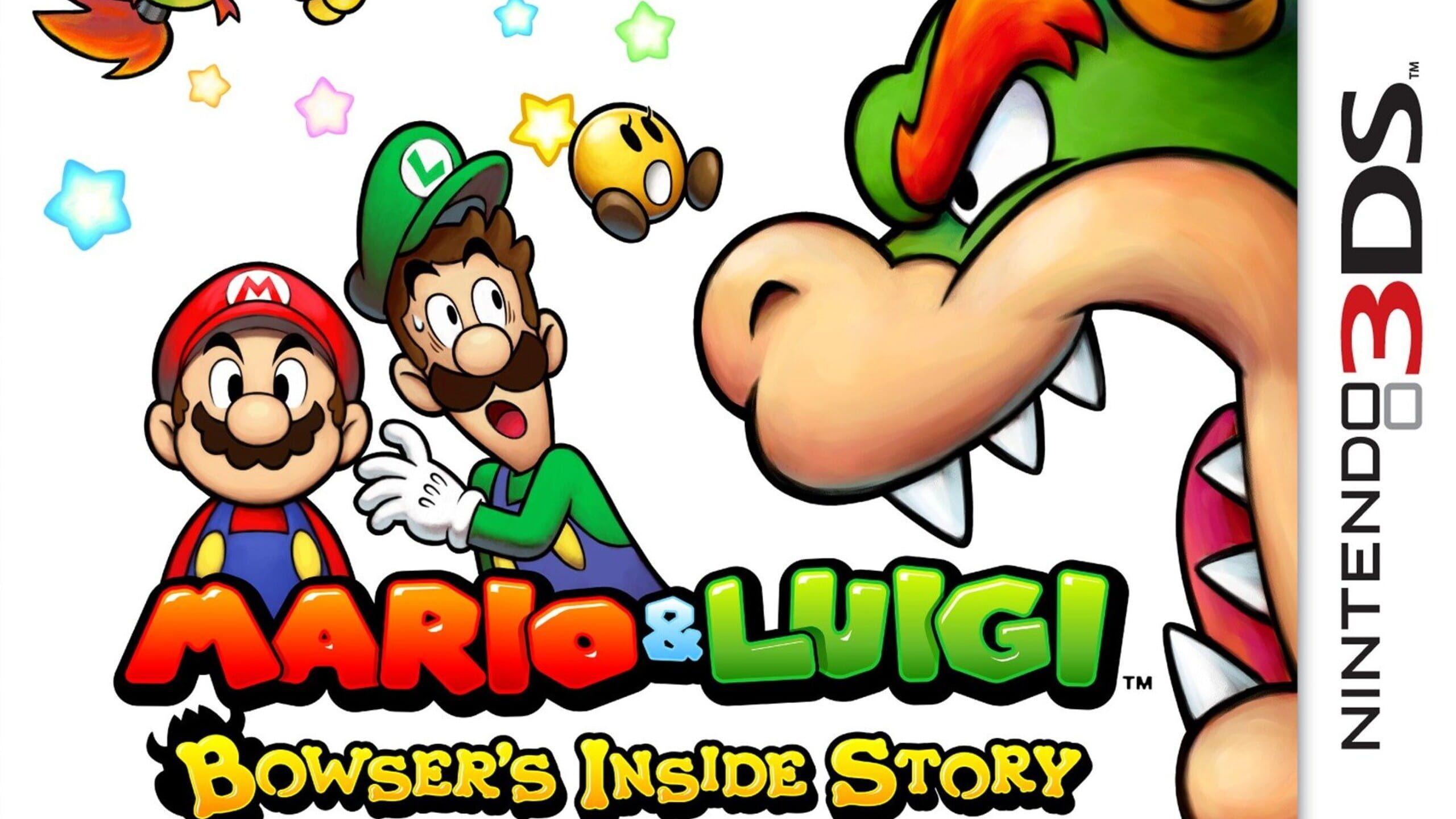 game cover art for Mario & Luigi: Bowser's Inside Story + Bowser Jr's Journey