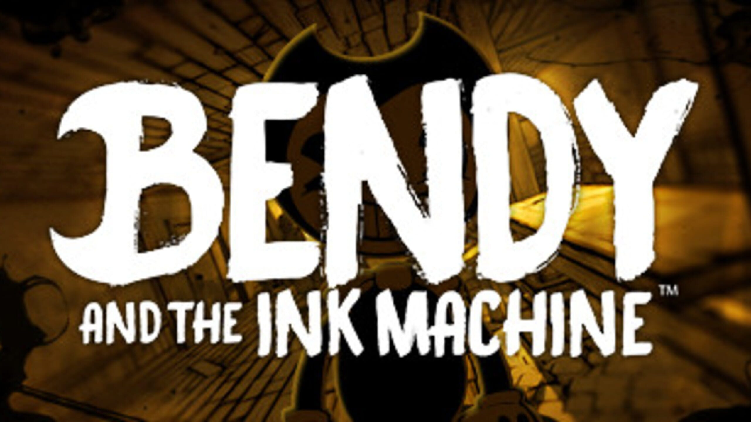 game cover art for Bendy and the Ink Machine
