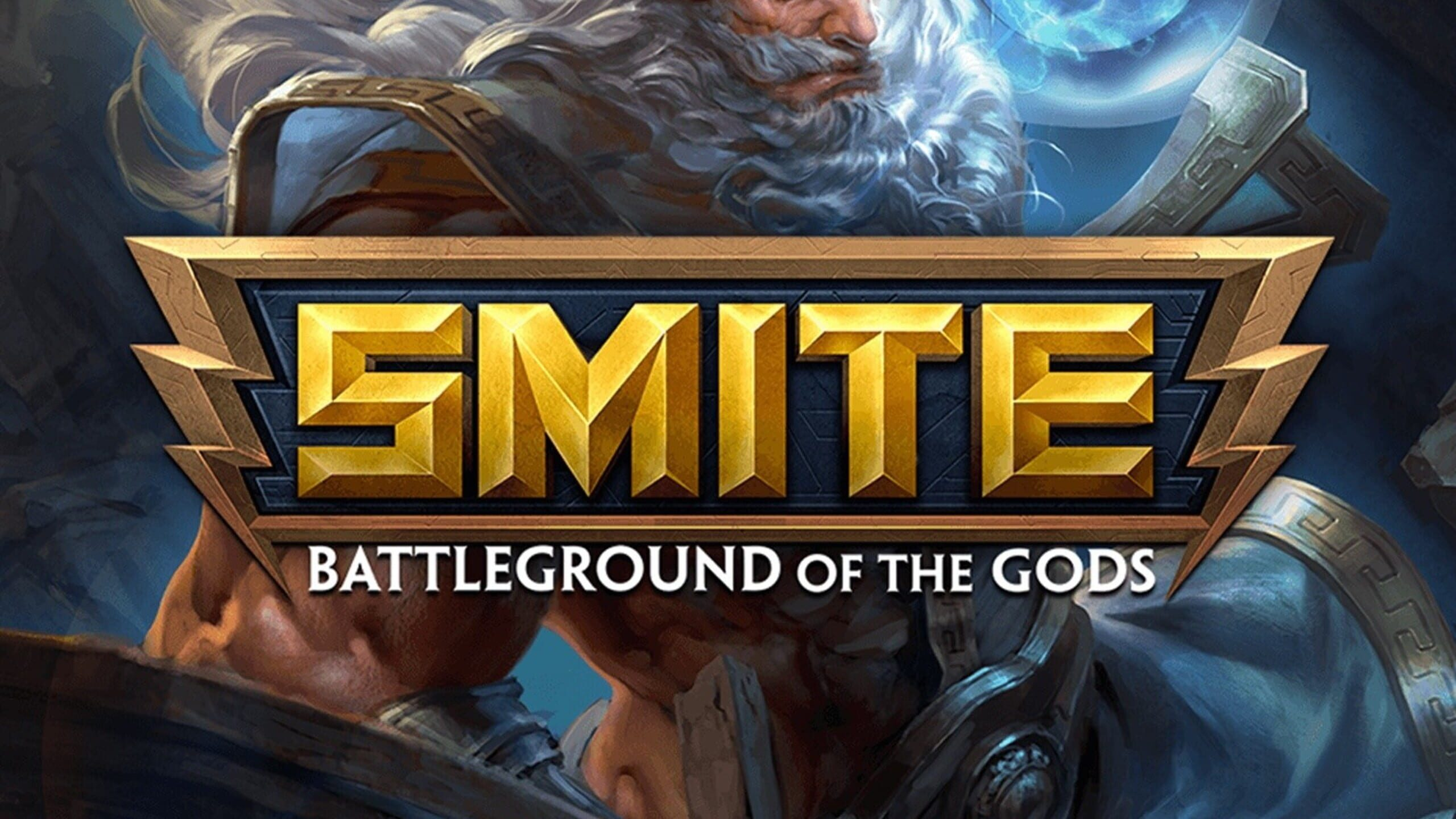 game cover art for SMITE
