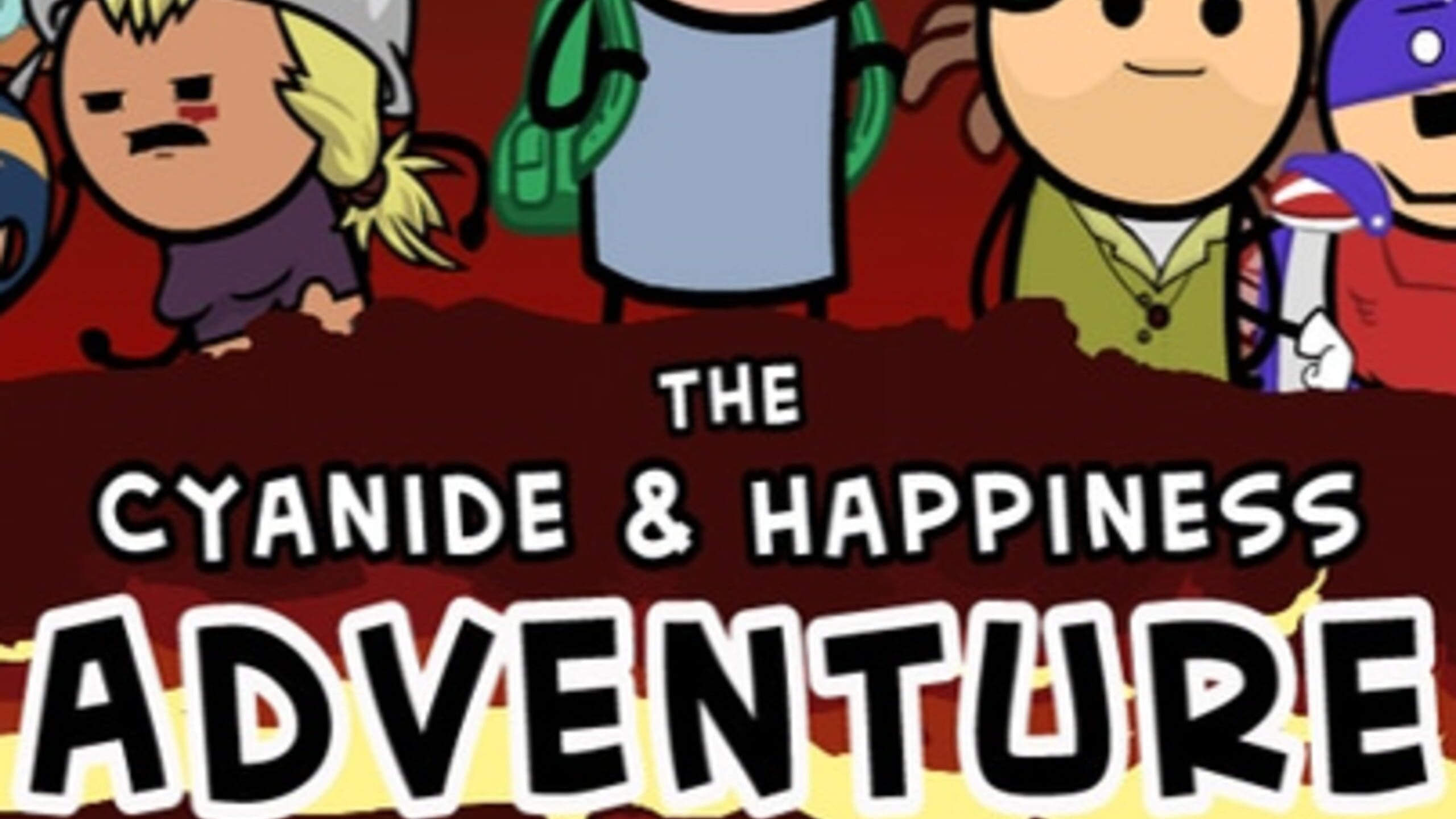 game cover art for The Cyanide & Happiness Adventure Game