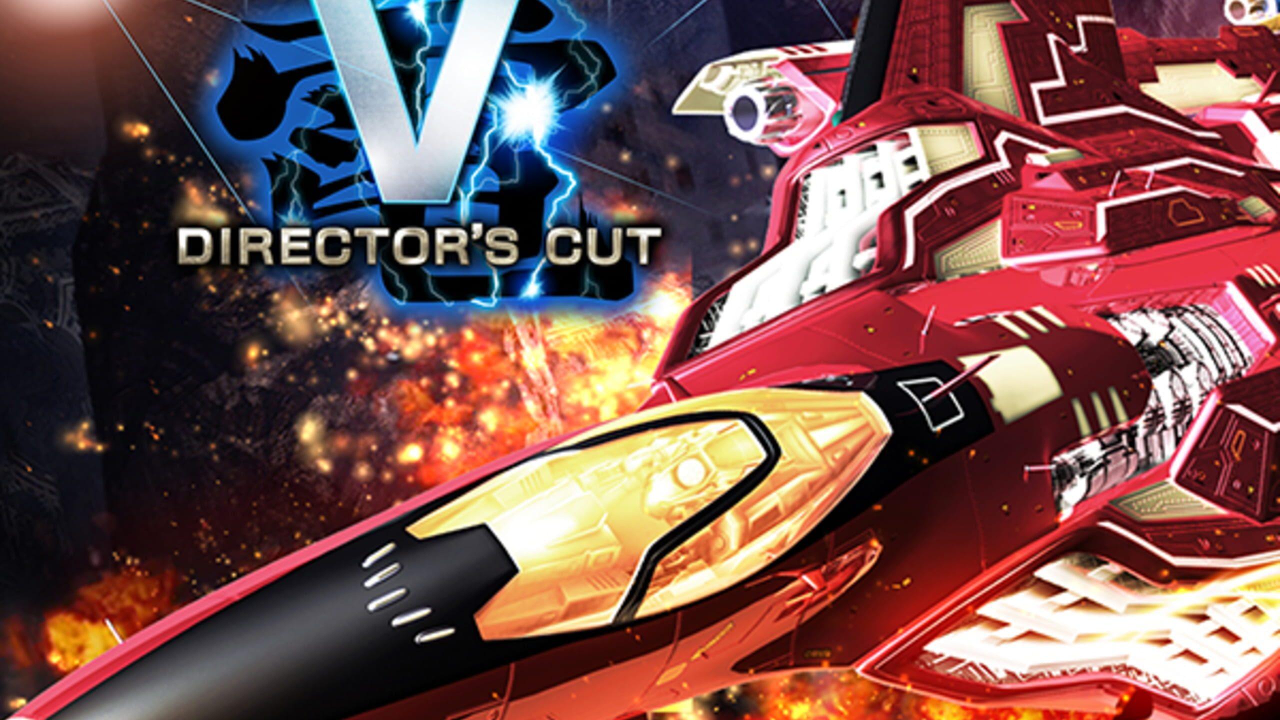 game cover art for Raiden V: Director's Cut