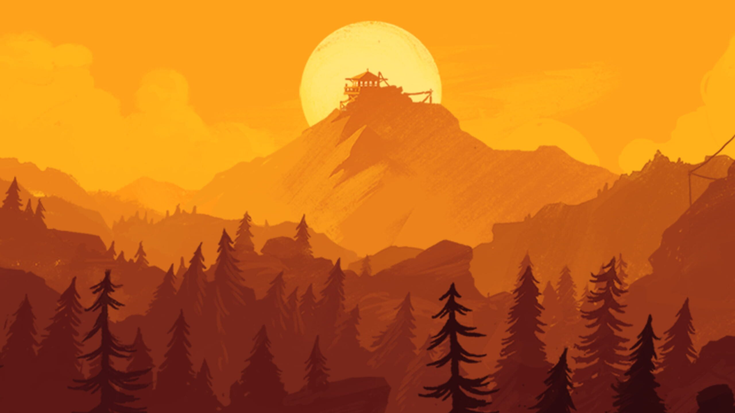 game cover art for Firewatch
