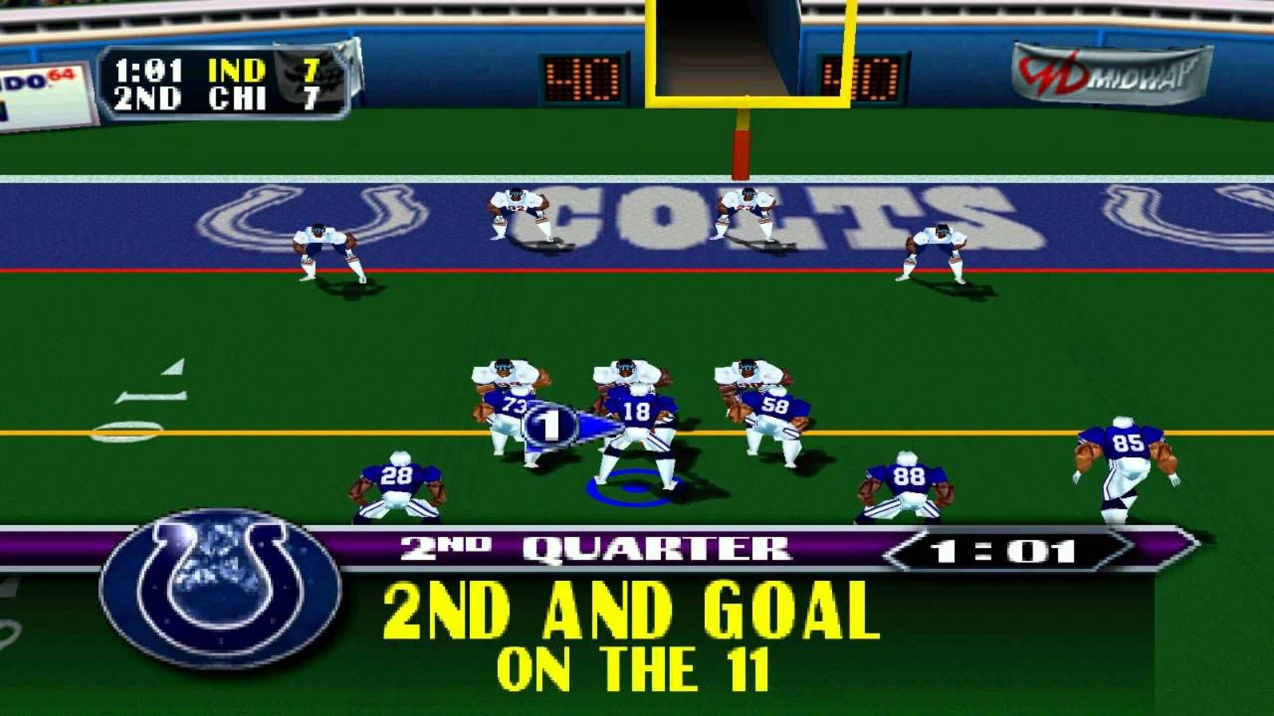 NFL Blitz 2000 - screenshots-1