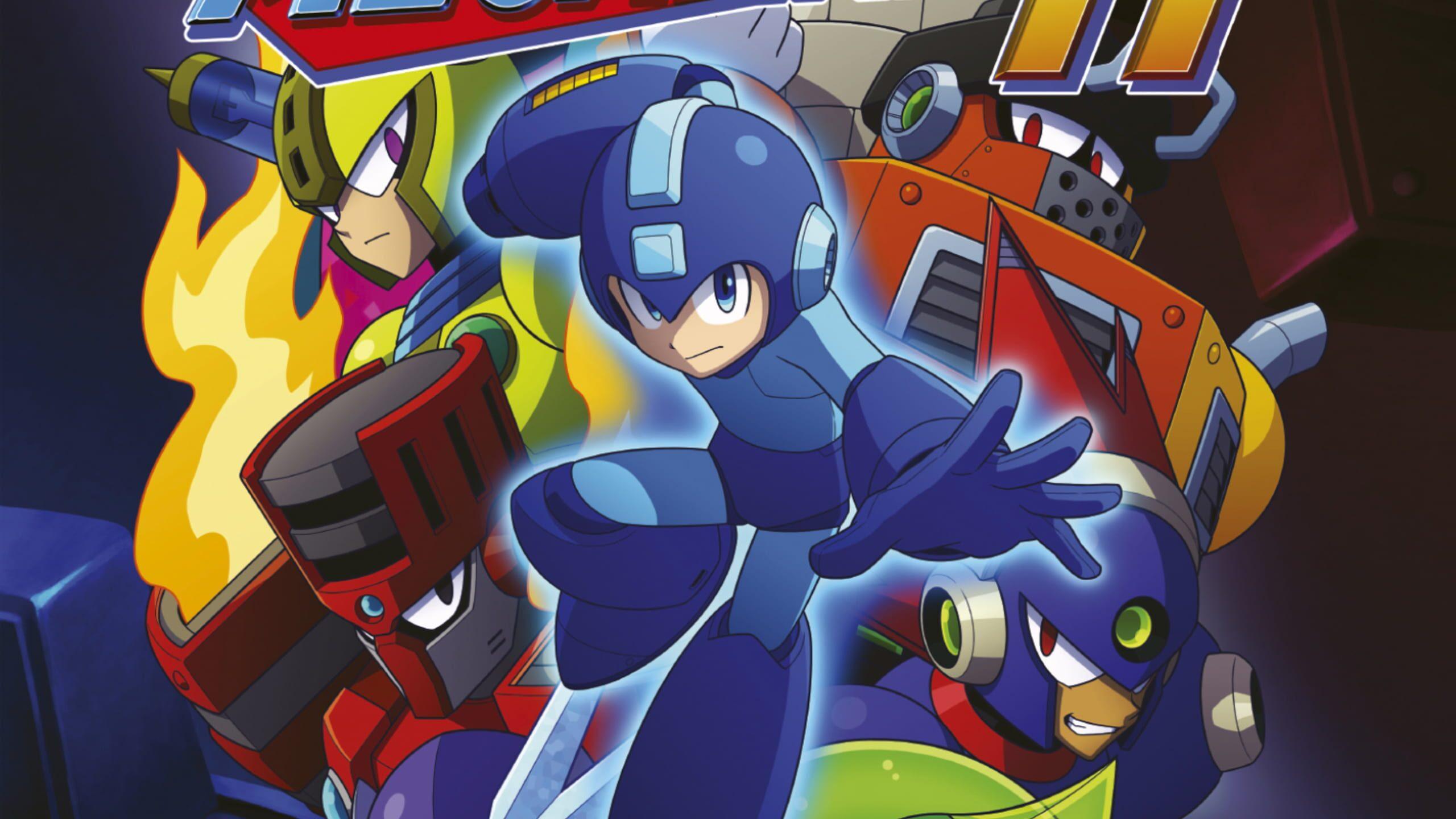 game cover art for Mega Man 11