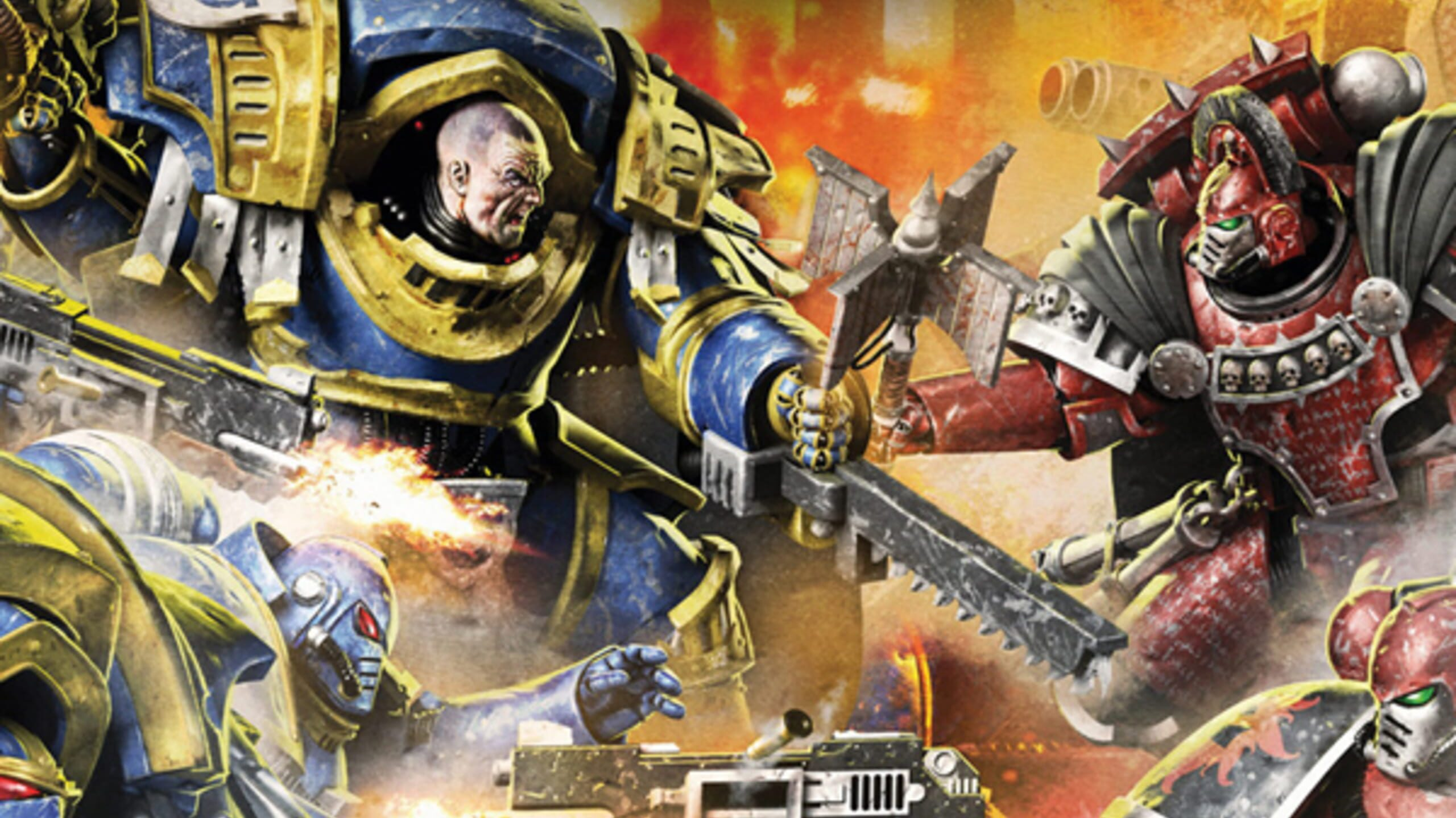 game cover art for The Horus Heresy: Betrayal At Calth