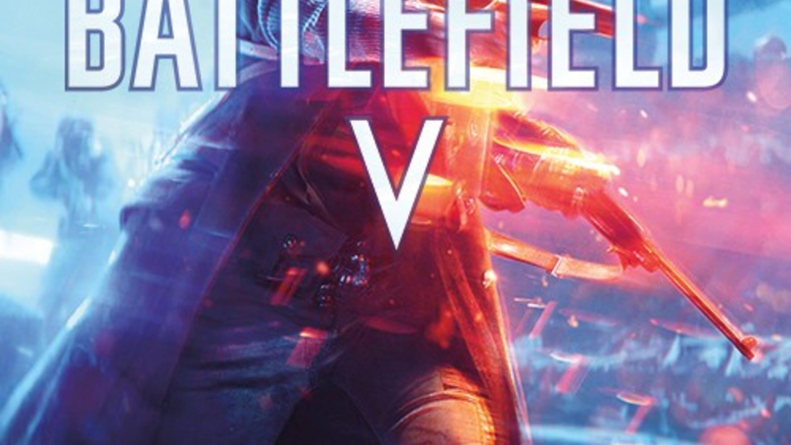 game cover art for Battlefield V