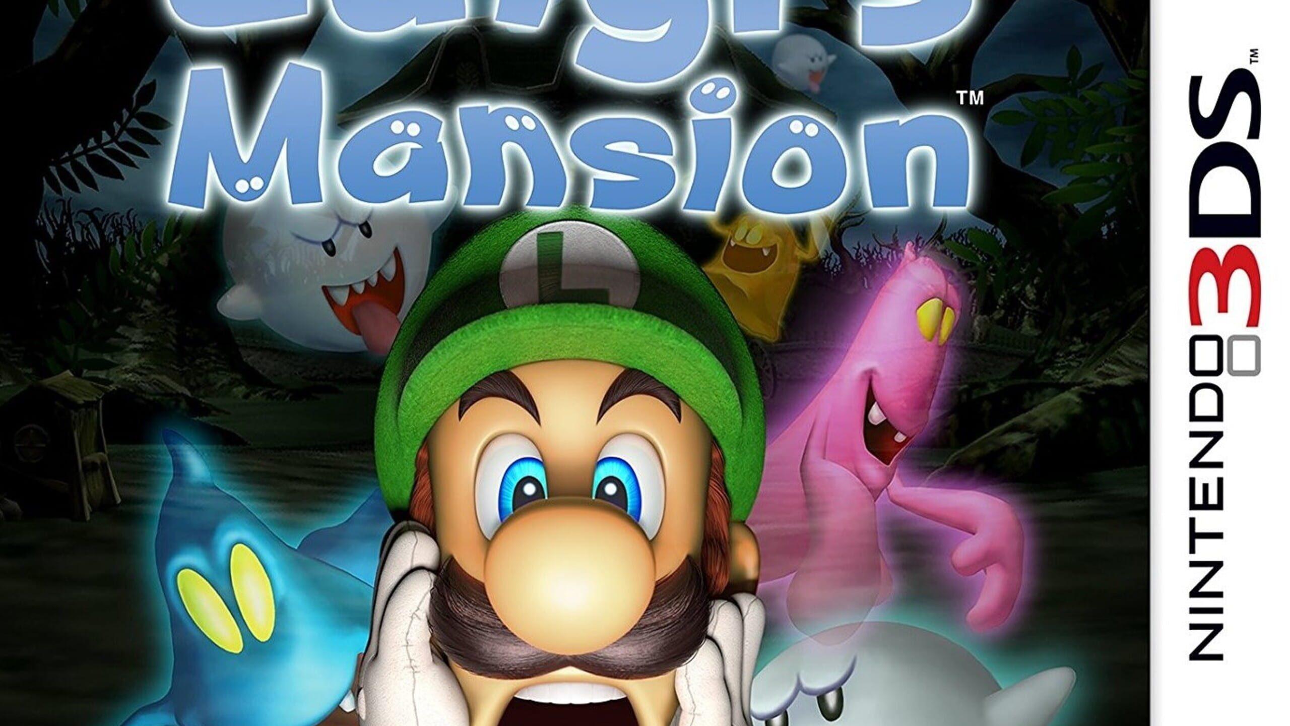 game cover art for Luigi's Mansion