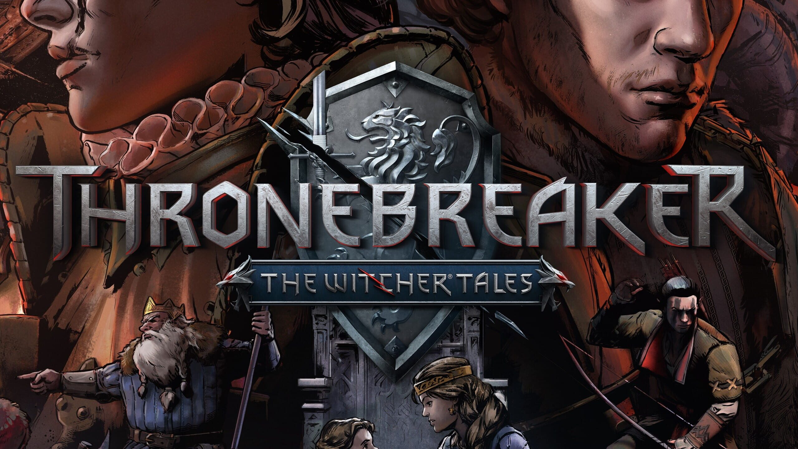 game cover art for Thronebreaker: The Witcher Tales