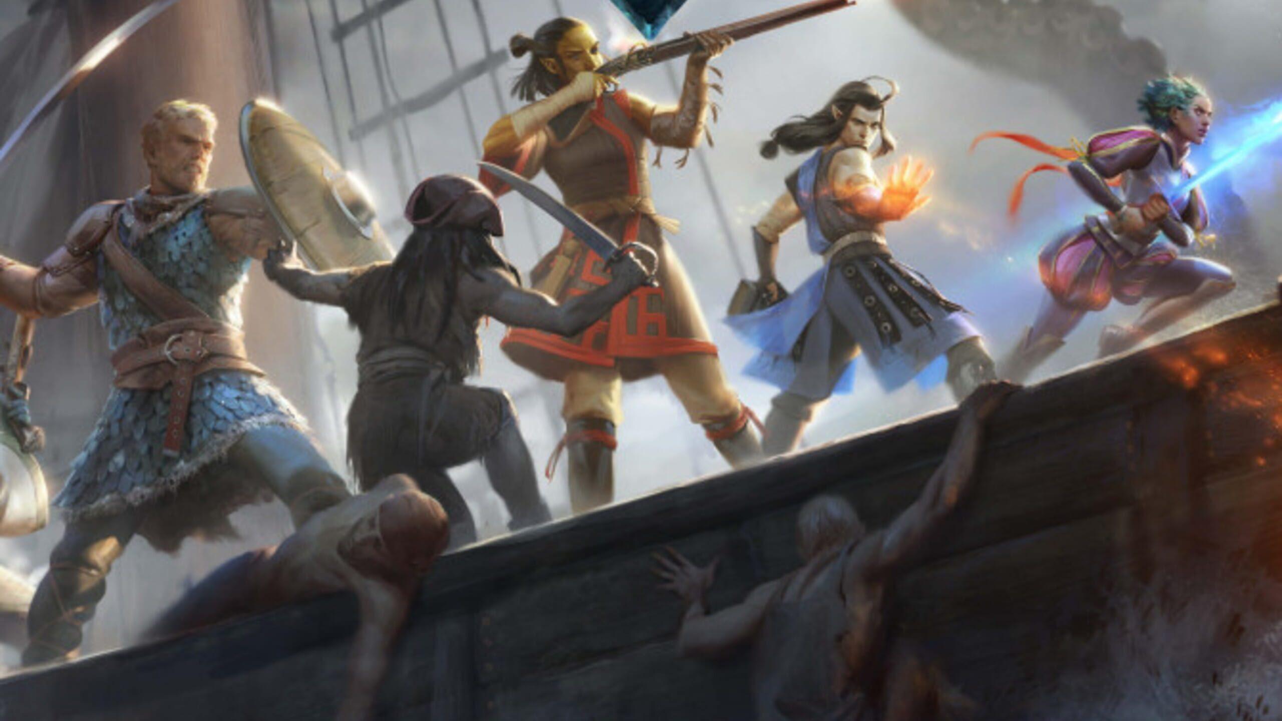 game cover art for Pillars of Eternity II: Deadfire