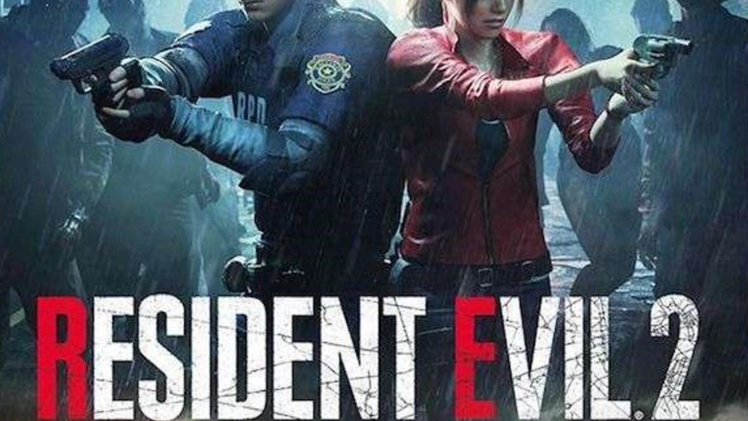 game cover art for Resident Evil 2